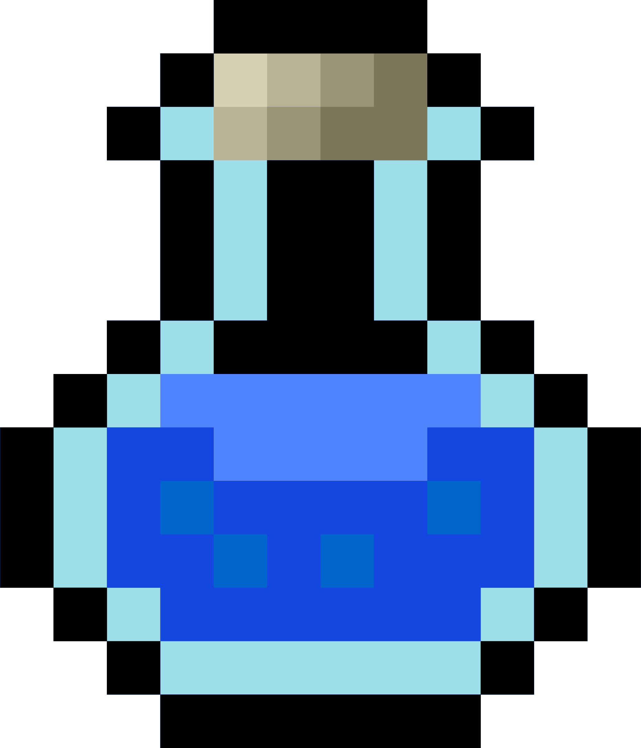 Pixel Potion Blue by isaiah658