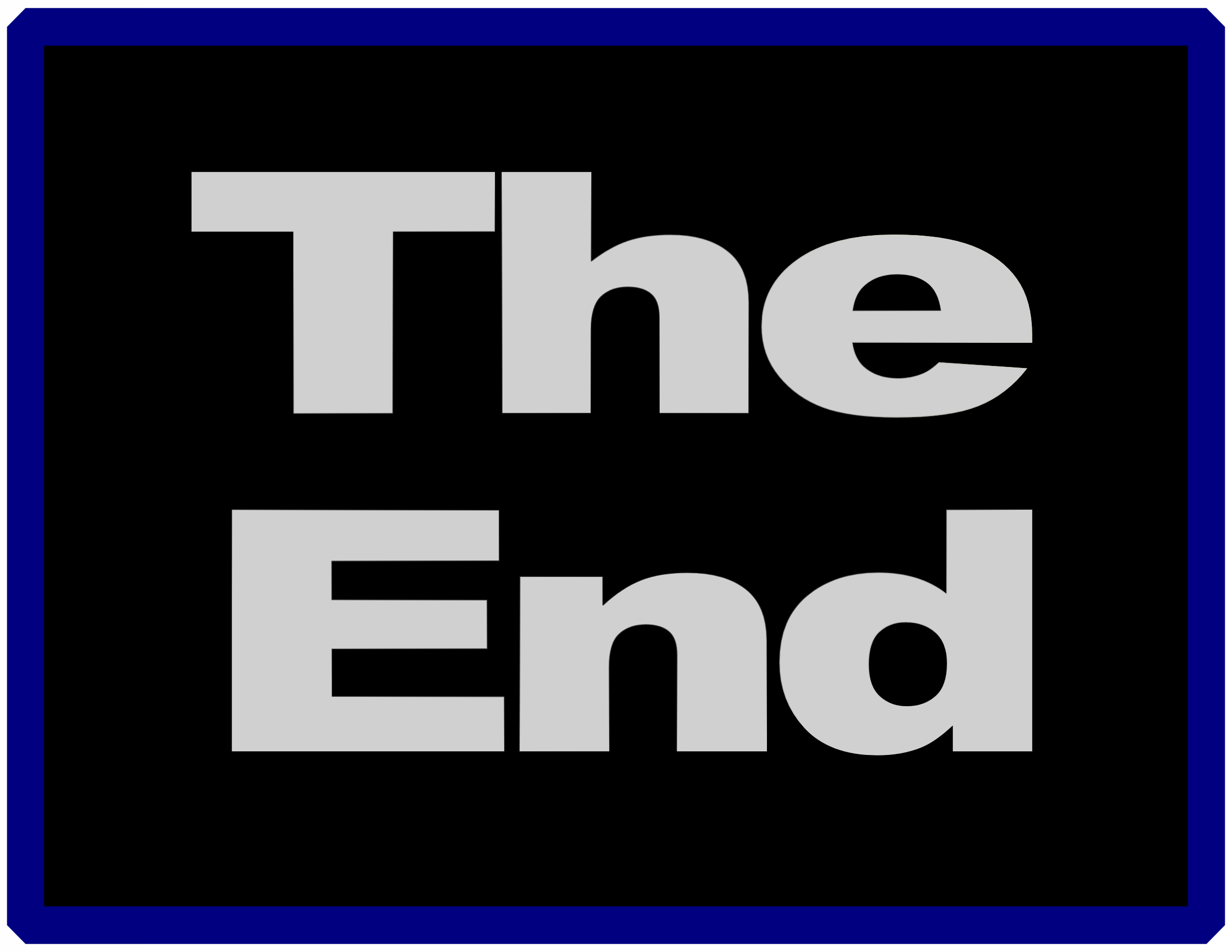 clipart the end rh openclipart org the end clip art book the end sign clipart