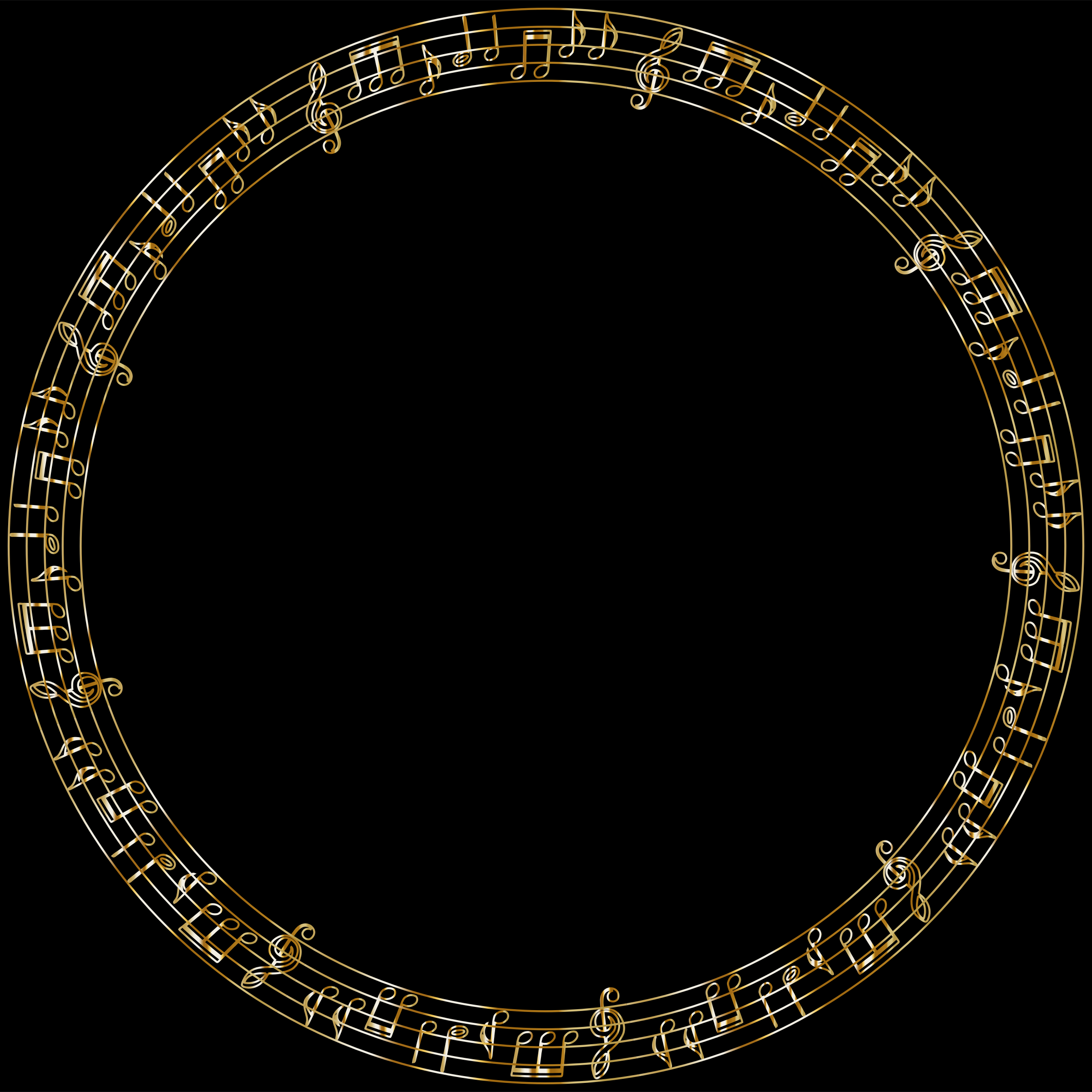 Golden Musical Circle by GDJ