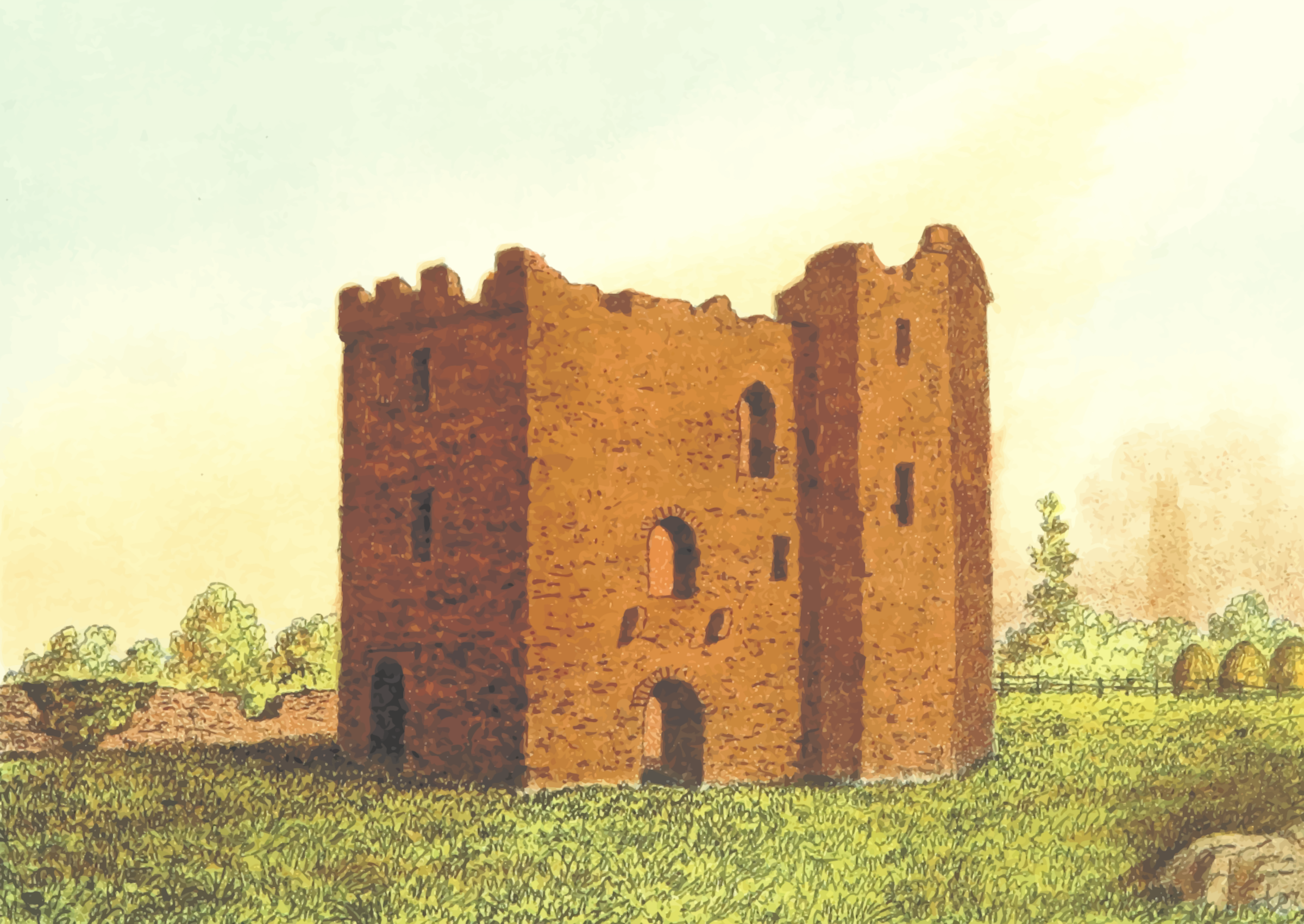 Hussey Castle by Firkin