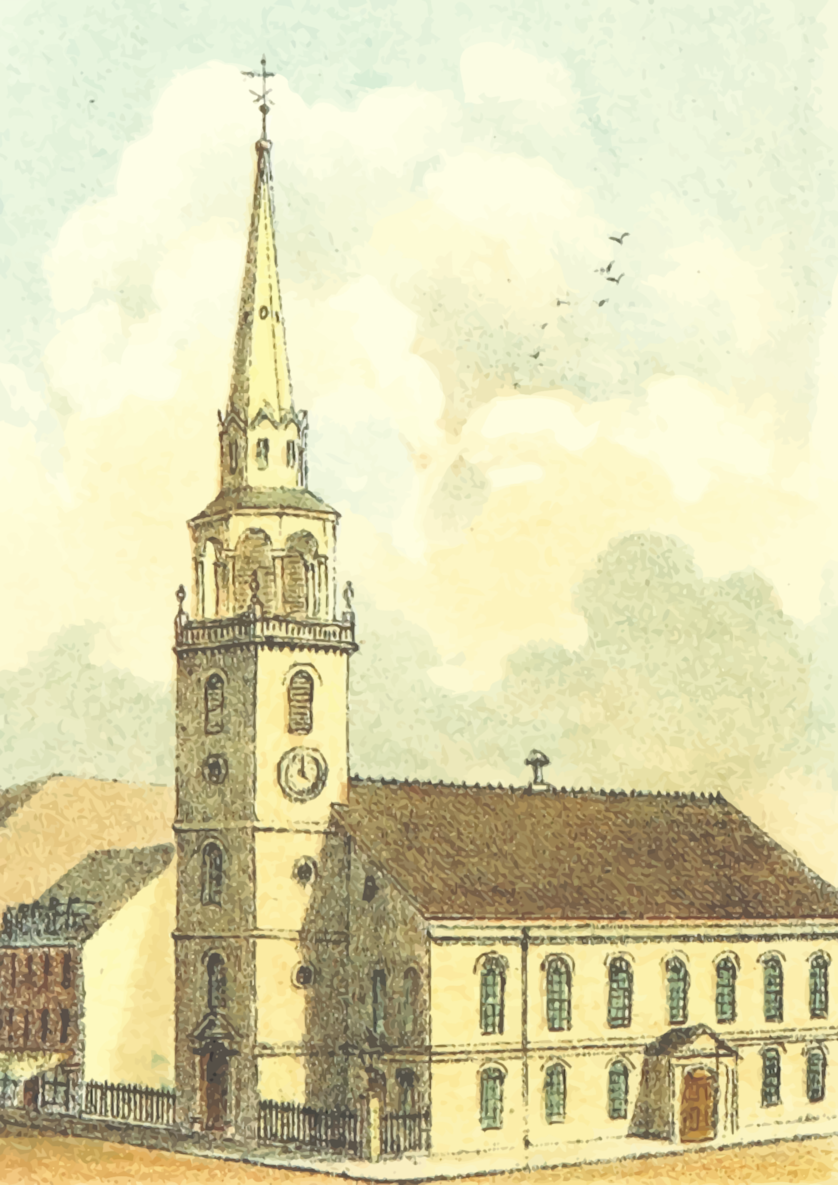 Old South Church by Firkin