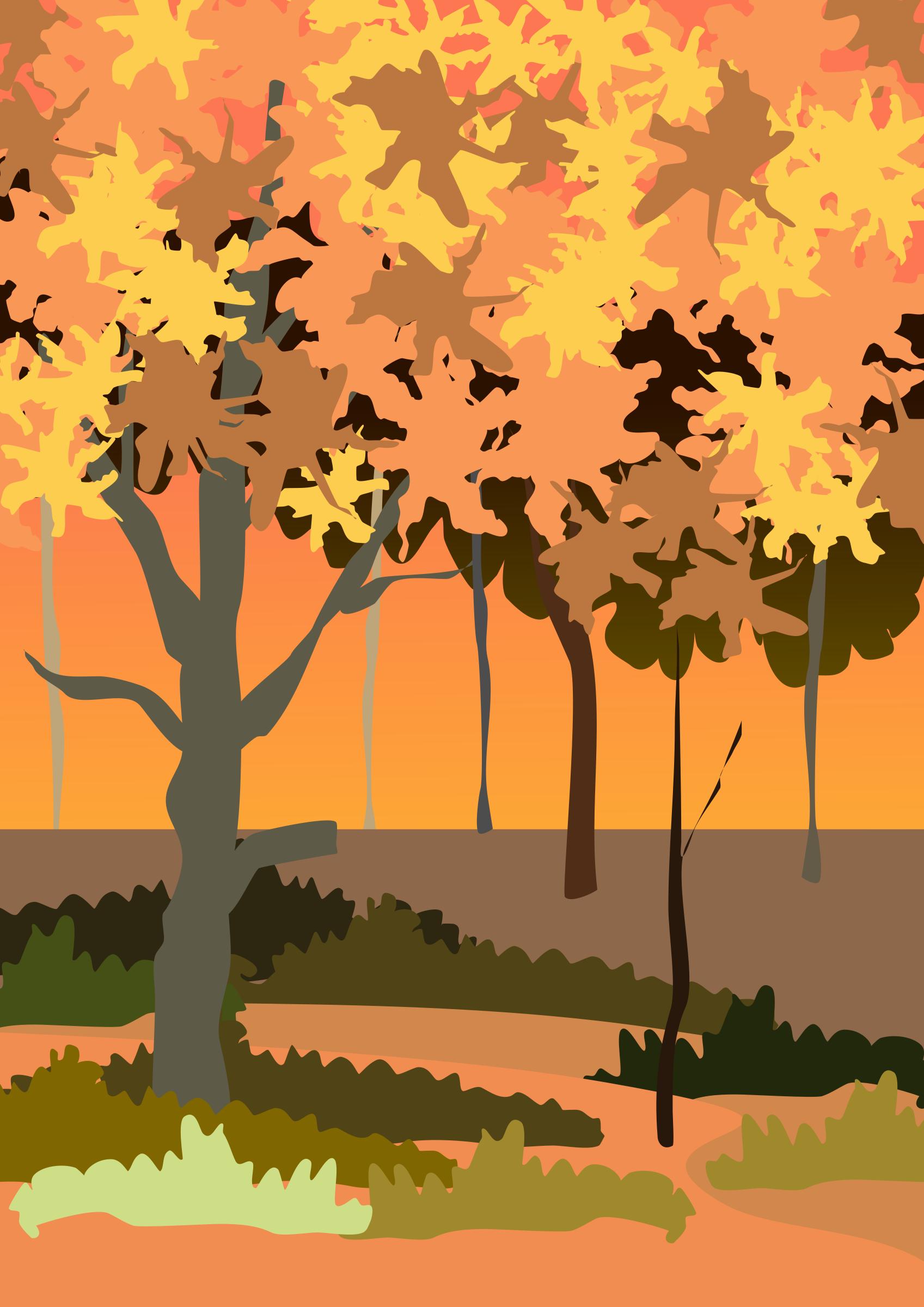 Autumn by Almeidah