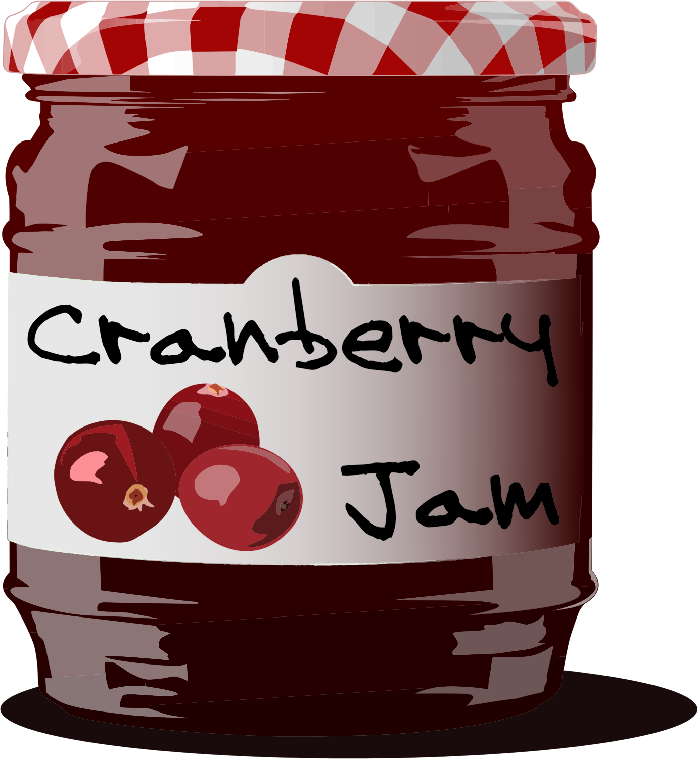 Cranberry Jam Jar by GDJ