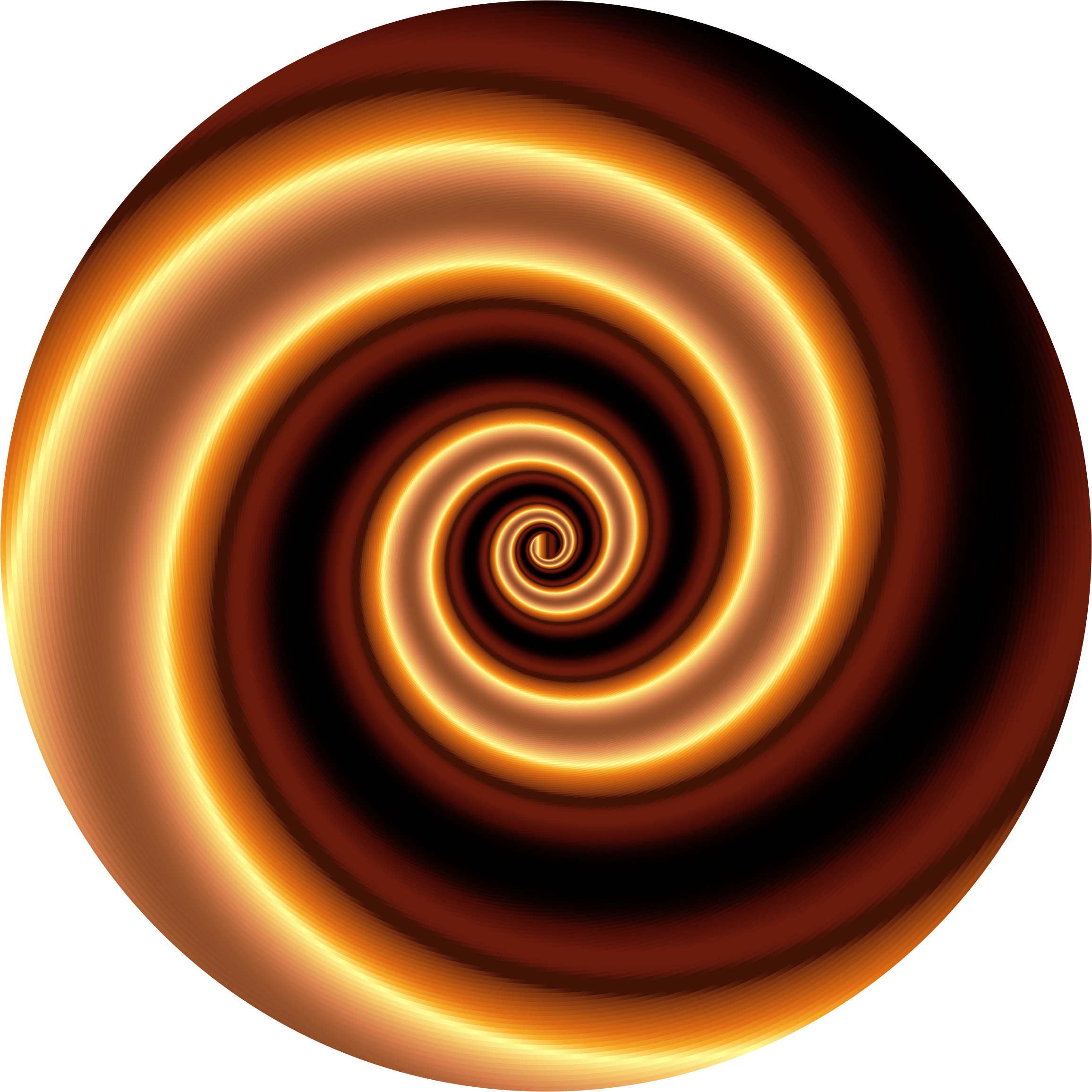 Clipart Colorful Swirling Vortex 5