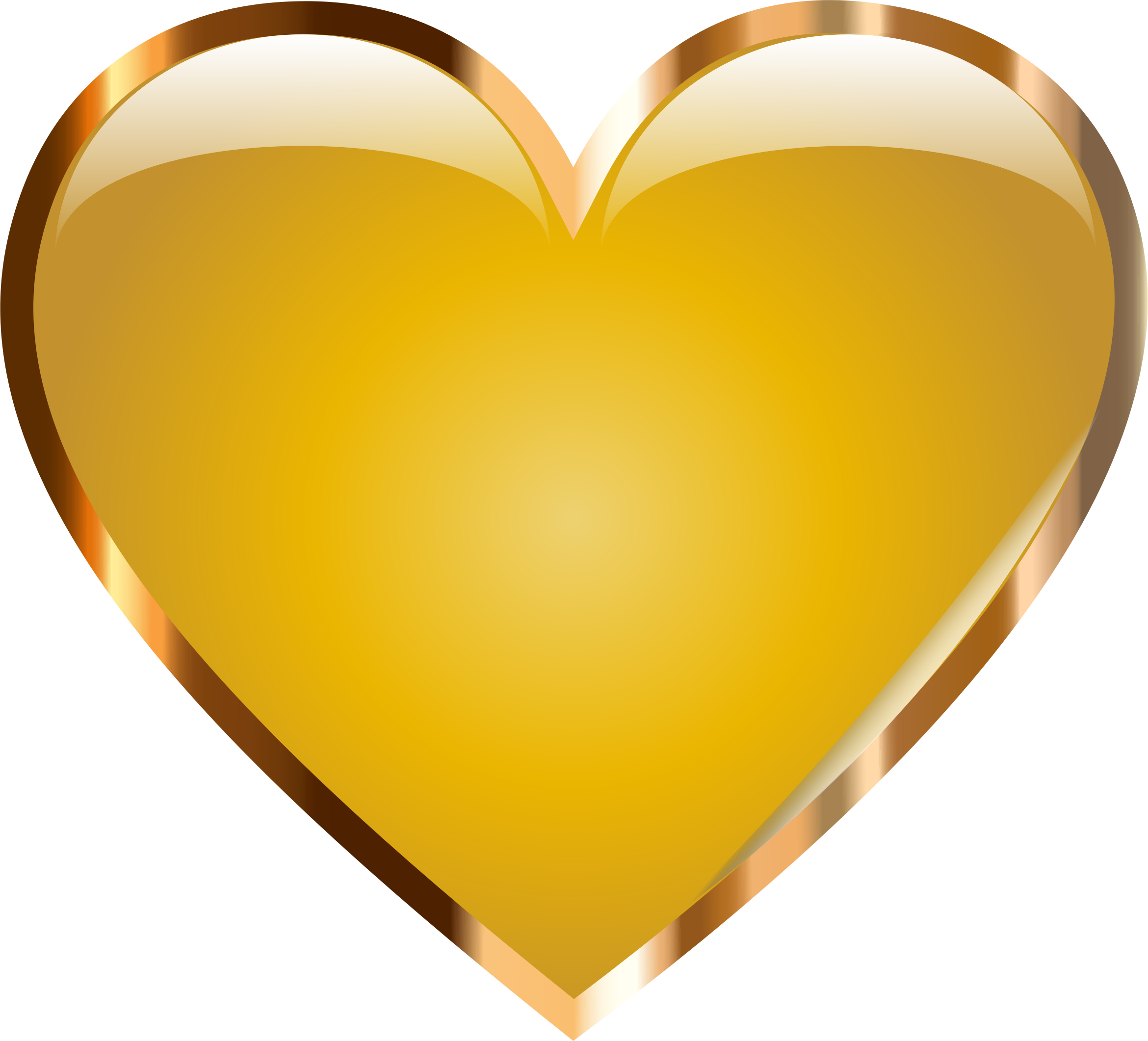 Gold Heart by GDJ
