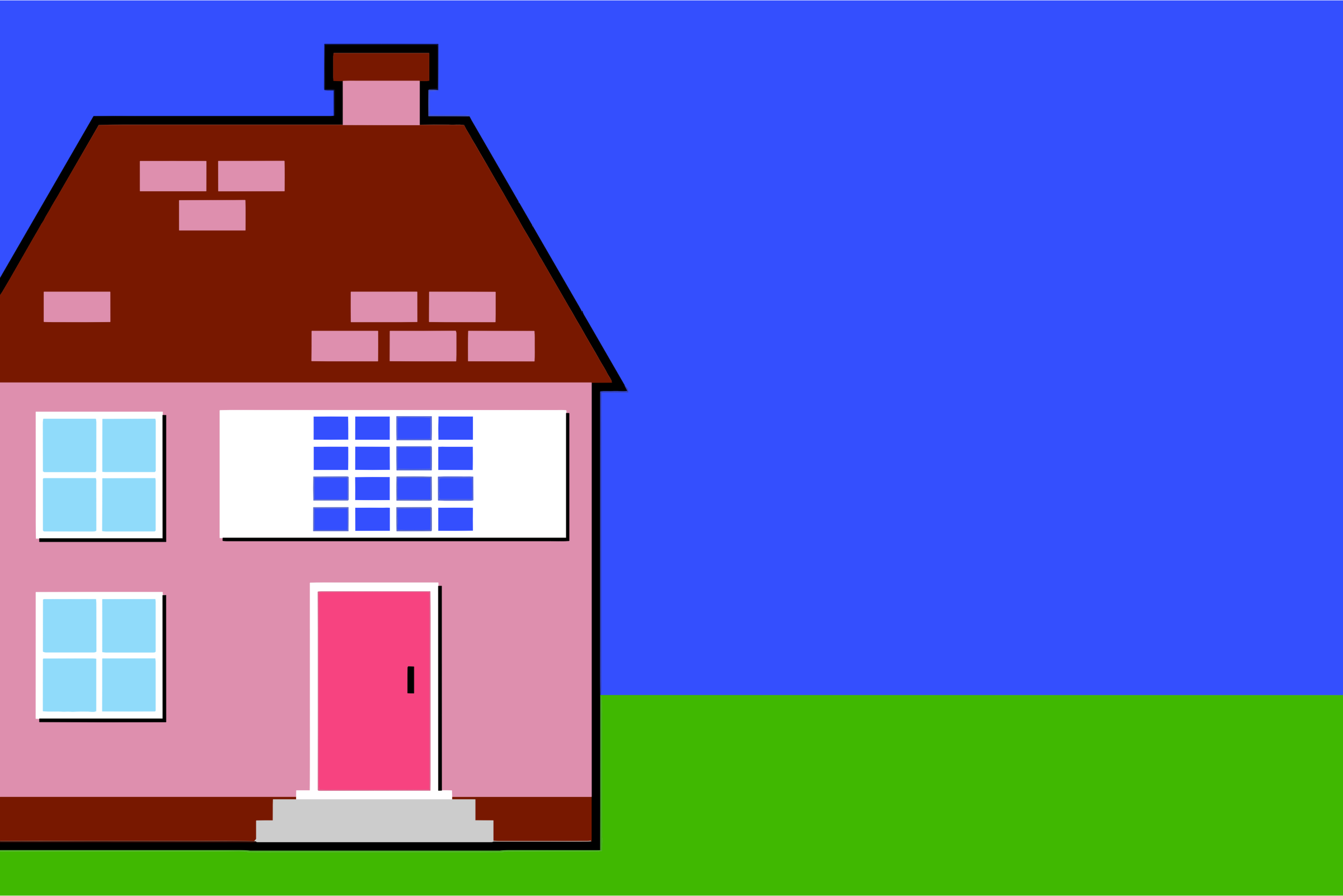 Simple House Illustration by GDJ