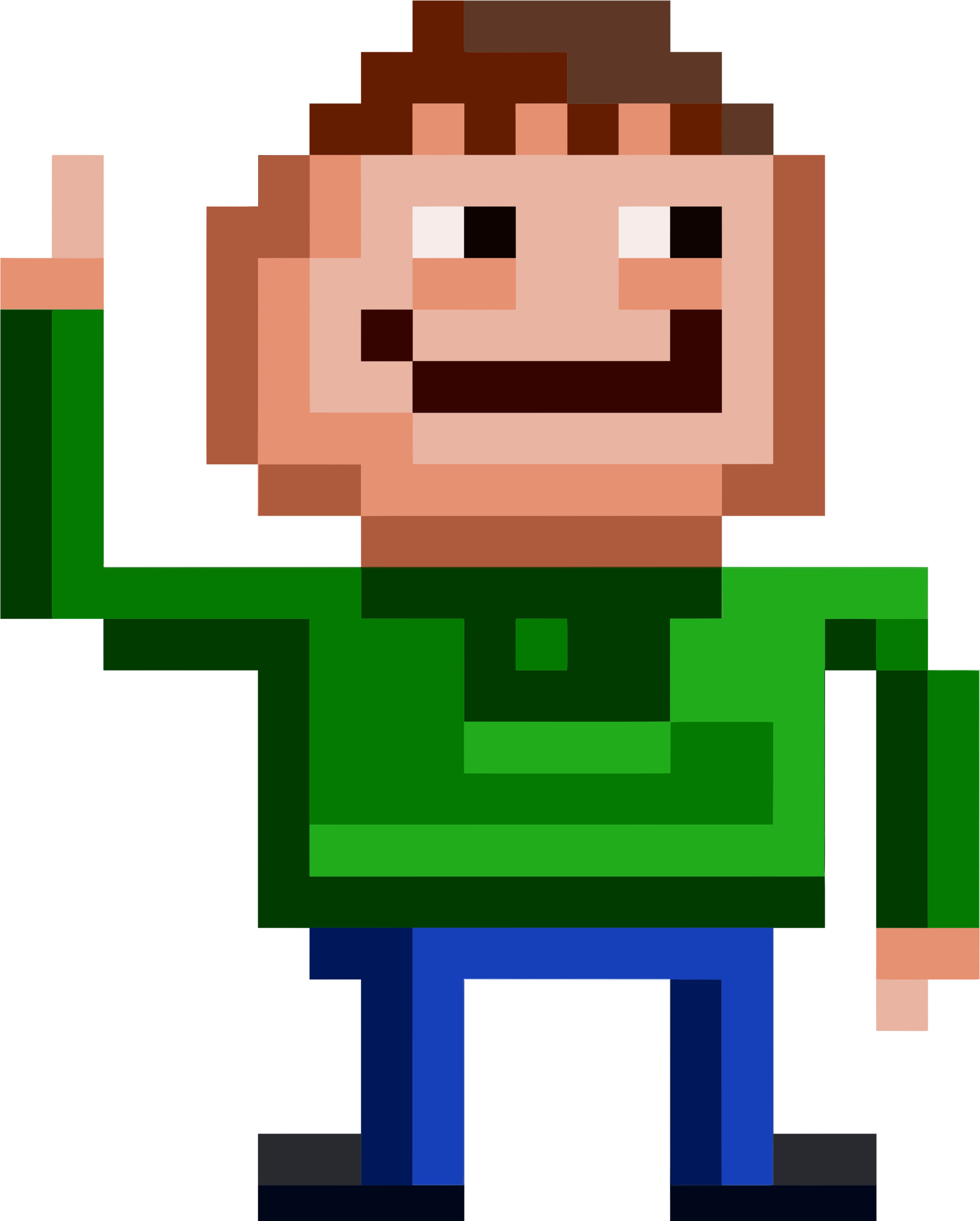 Pixel Man by GDJ