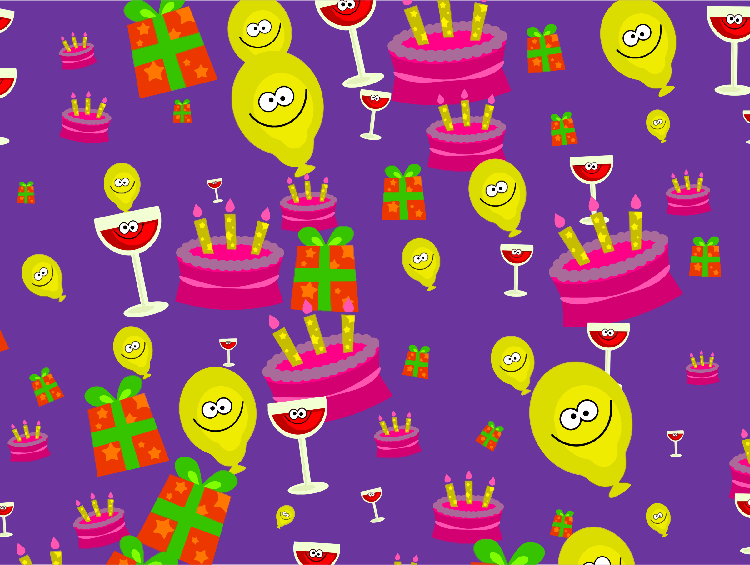 Party Wallpaper by GDJ