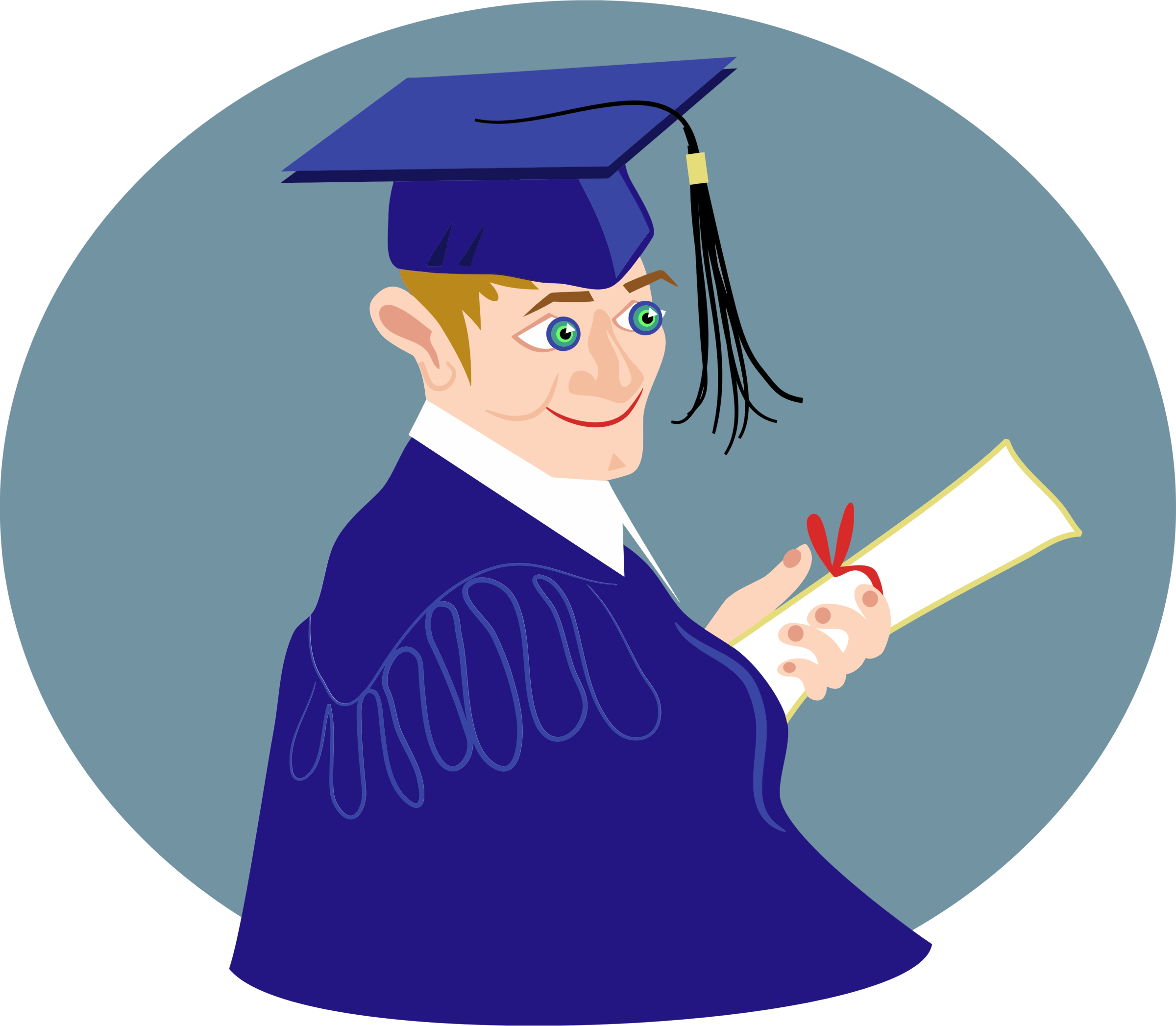 Graduation Boy by GDJ