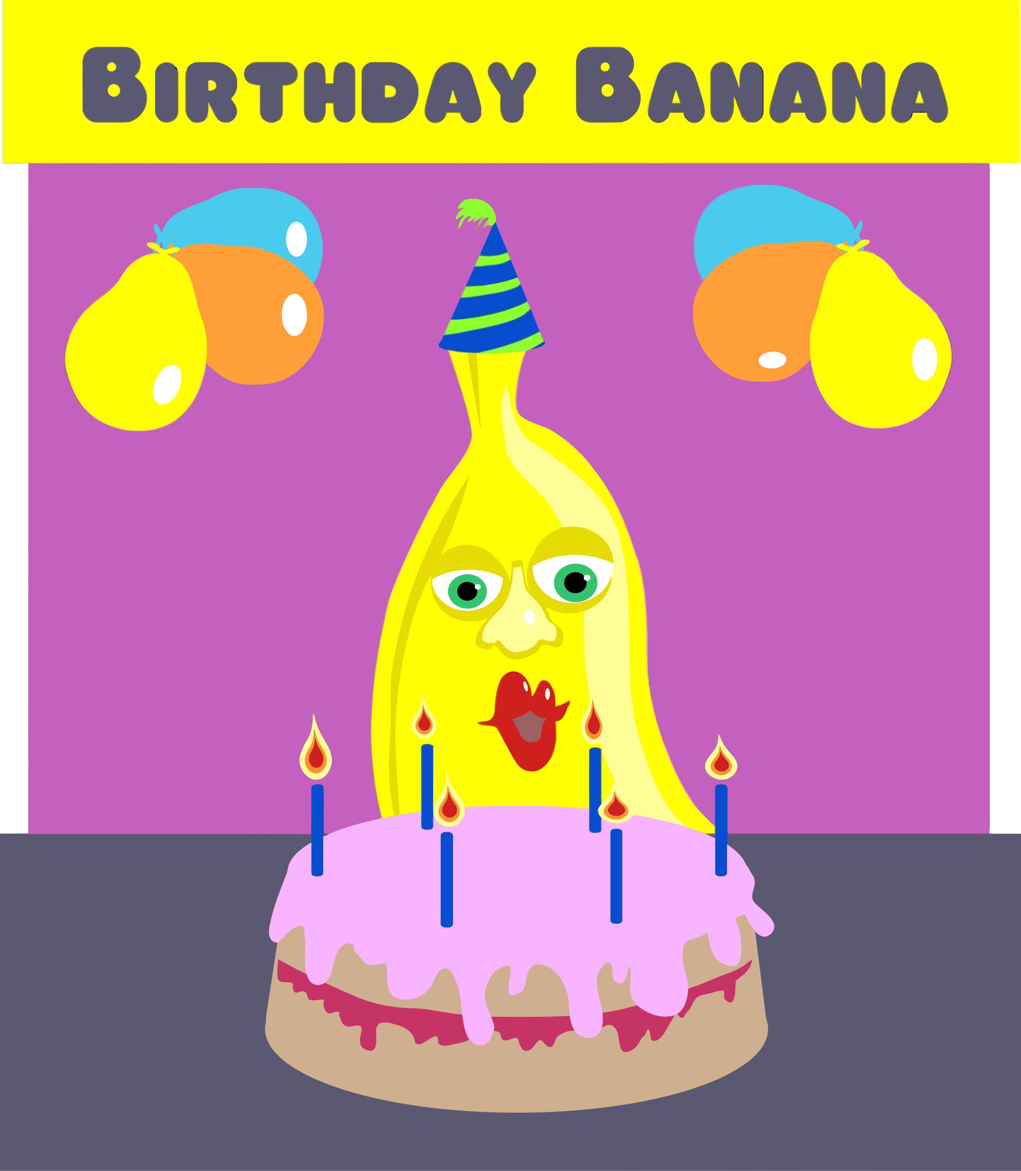 Clipart - Birthday Ban...
