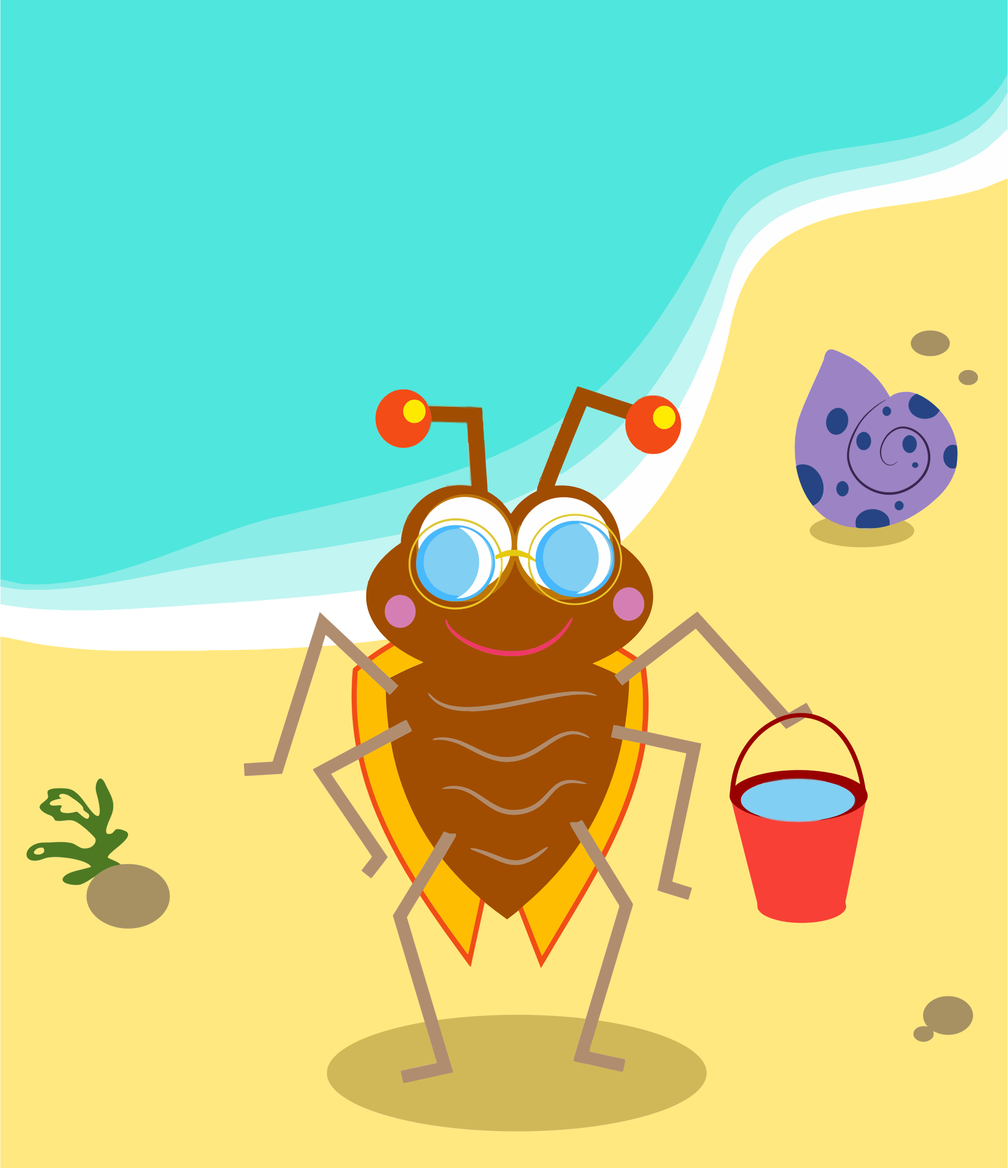Beach Bug by GDJ