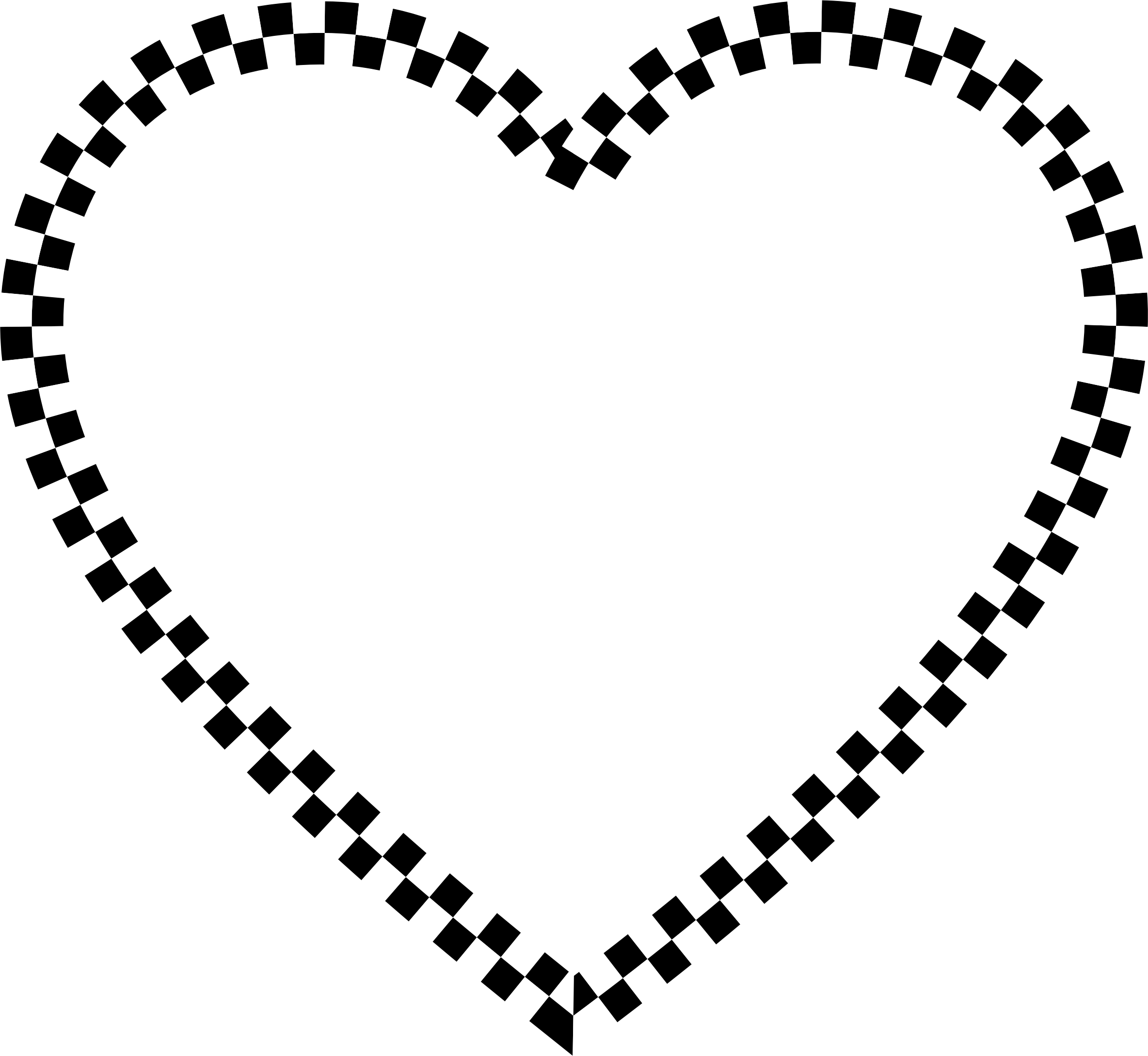 Checkered Heart by GDJ