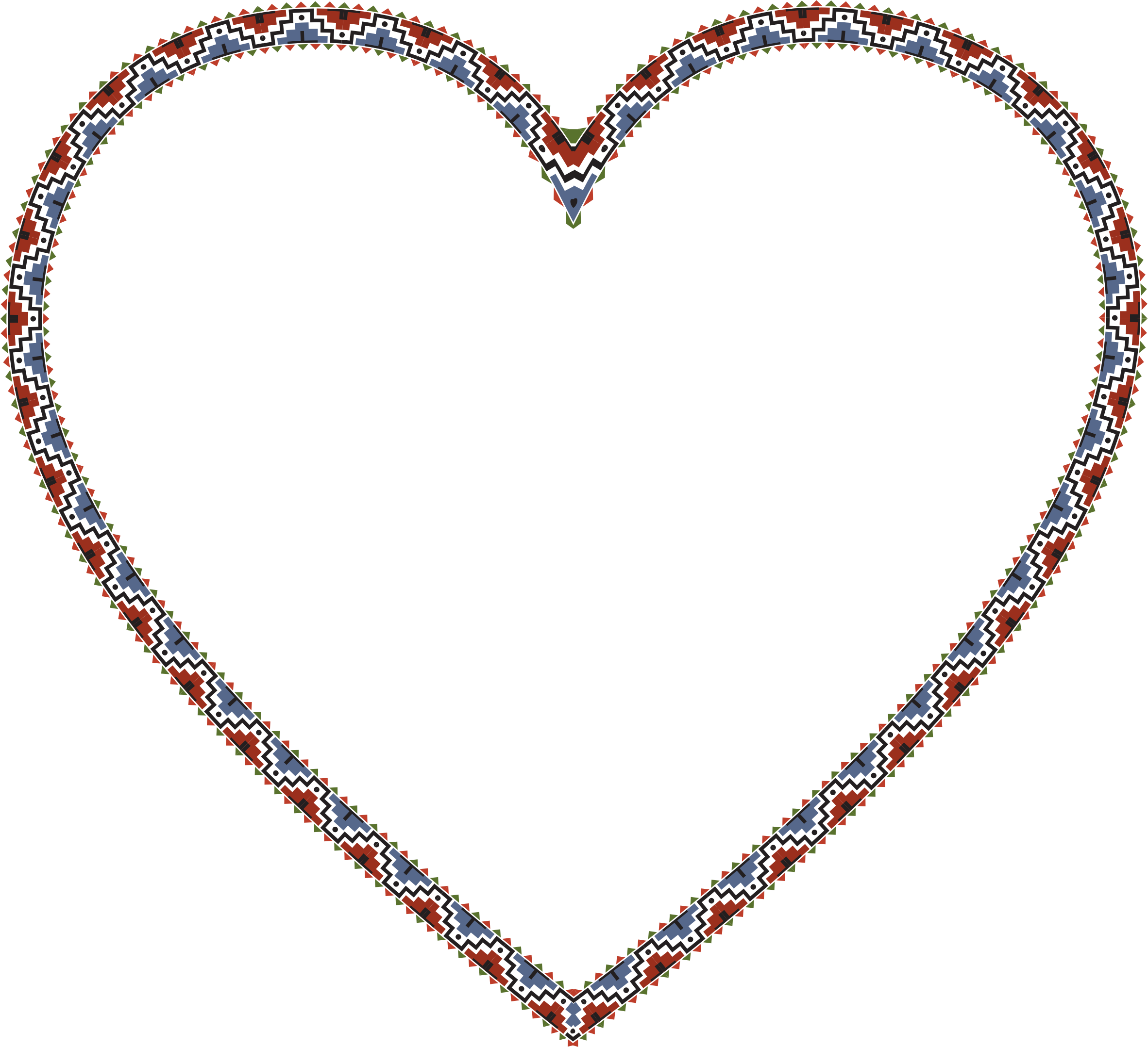 Native American Heart by GDJ