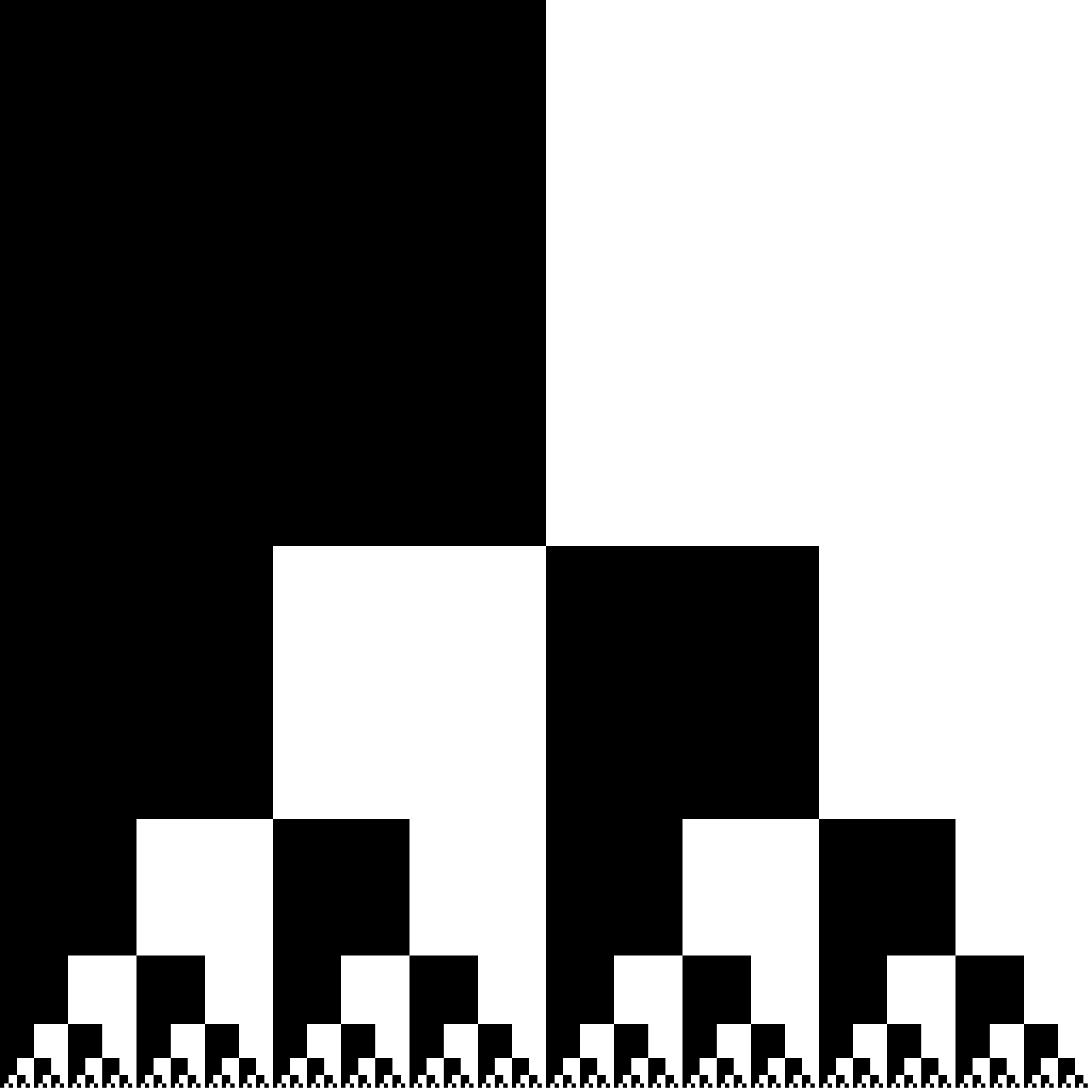 black and white squares by Lazur URH