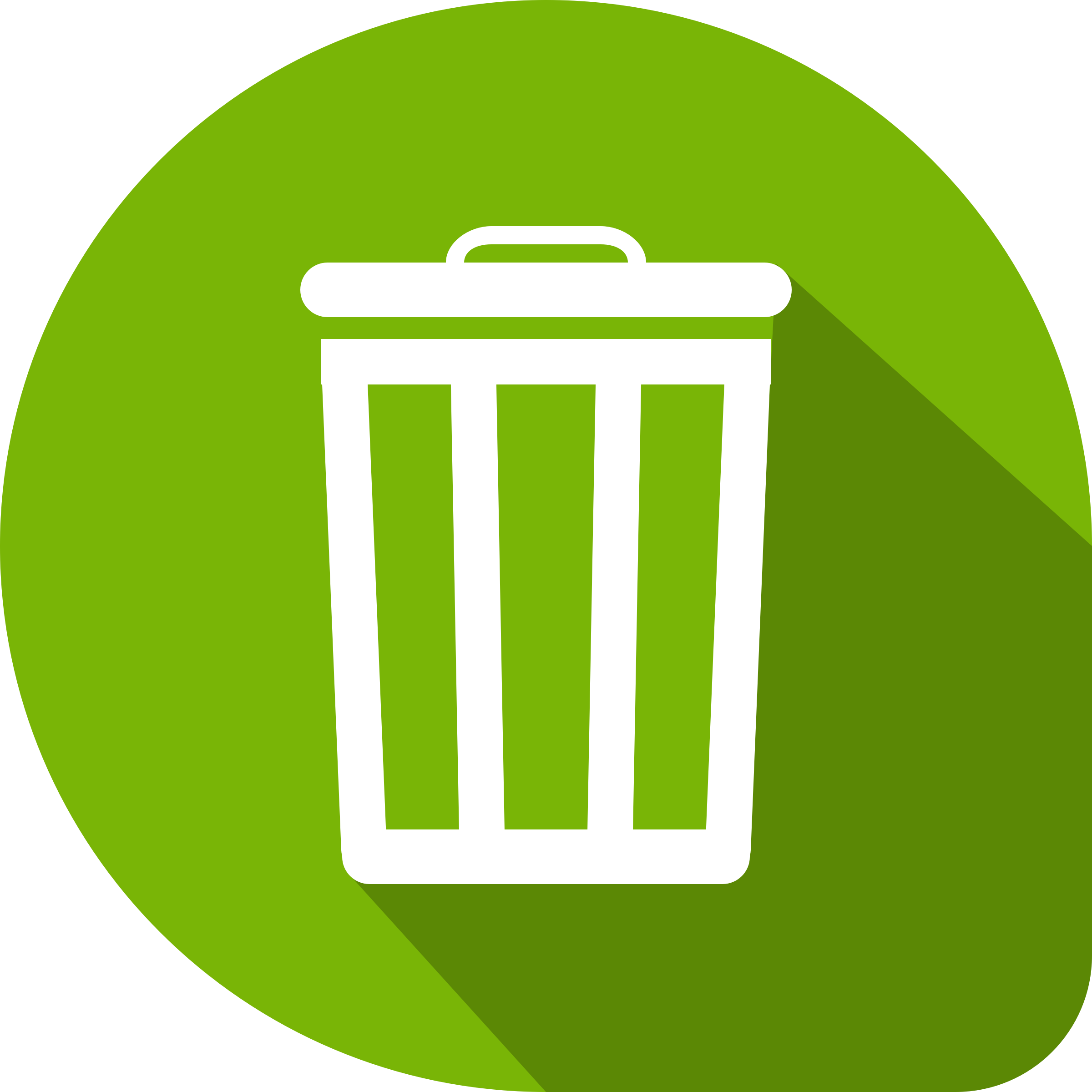 Recycle bin icon by acagastya