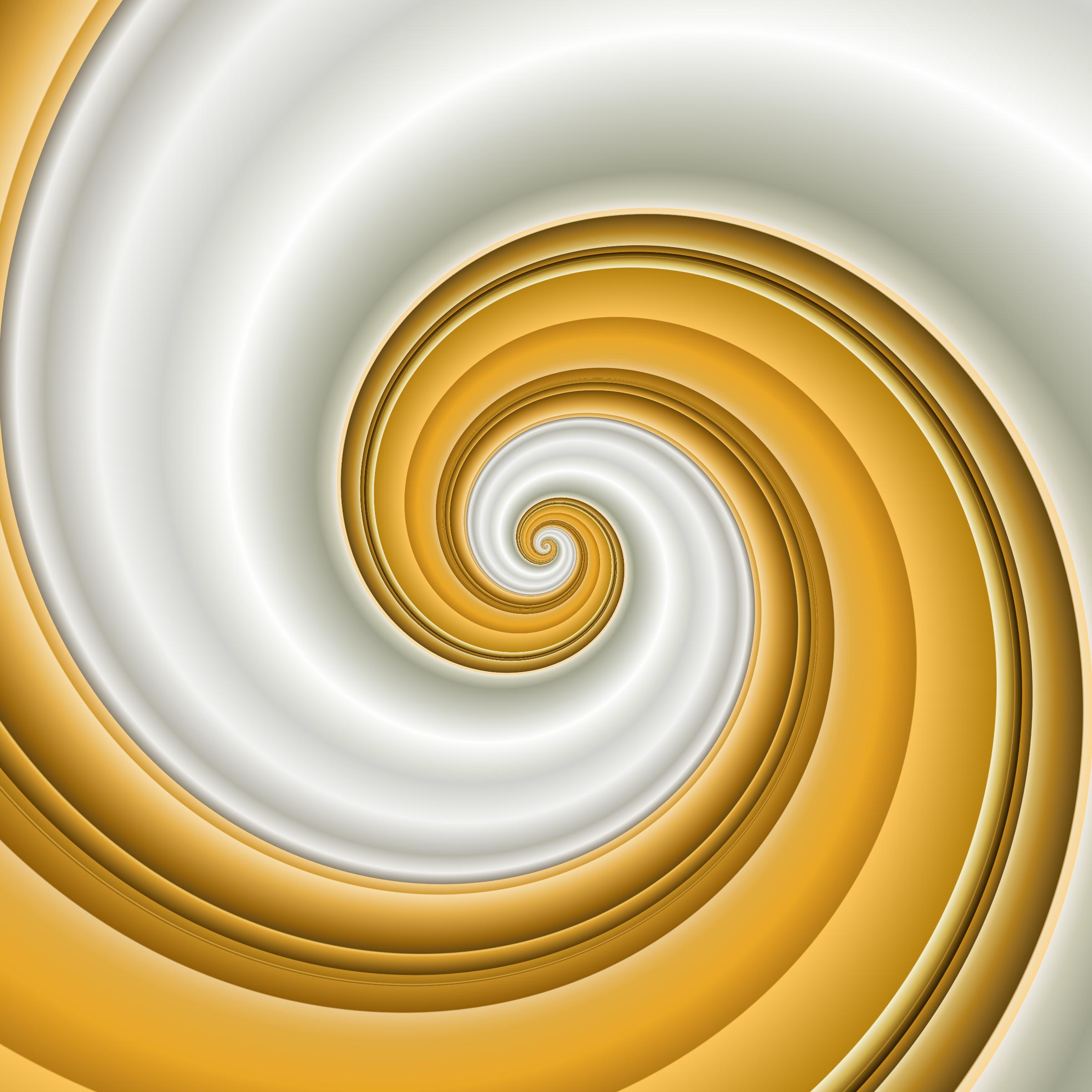 Clipart - golden spiral 2