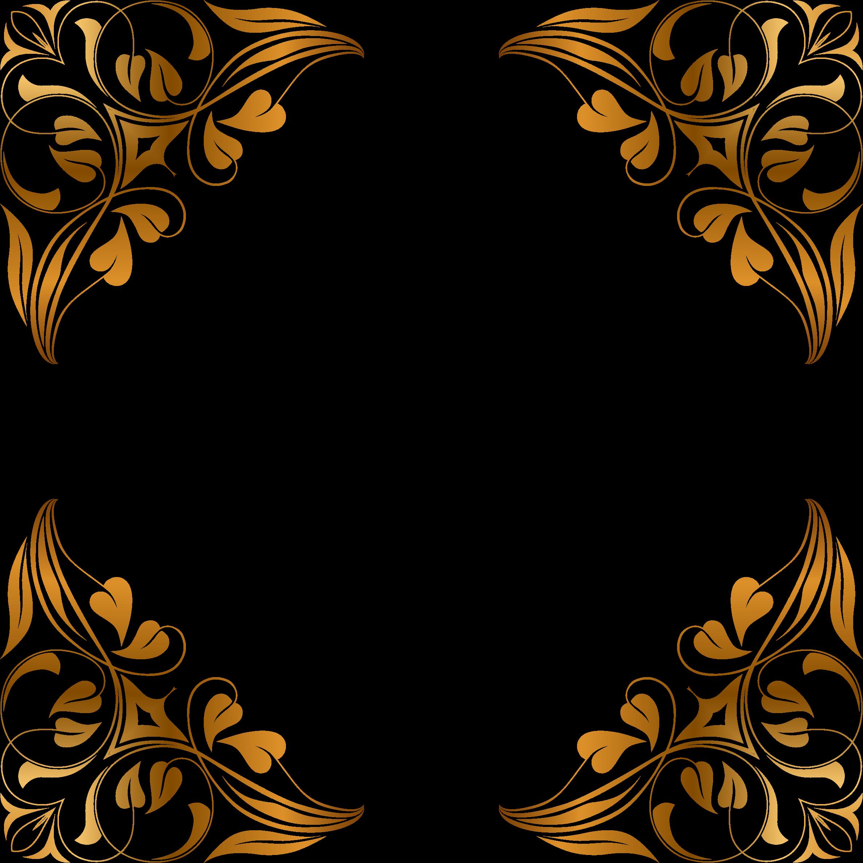 floral flourish frame 7
