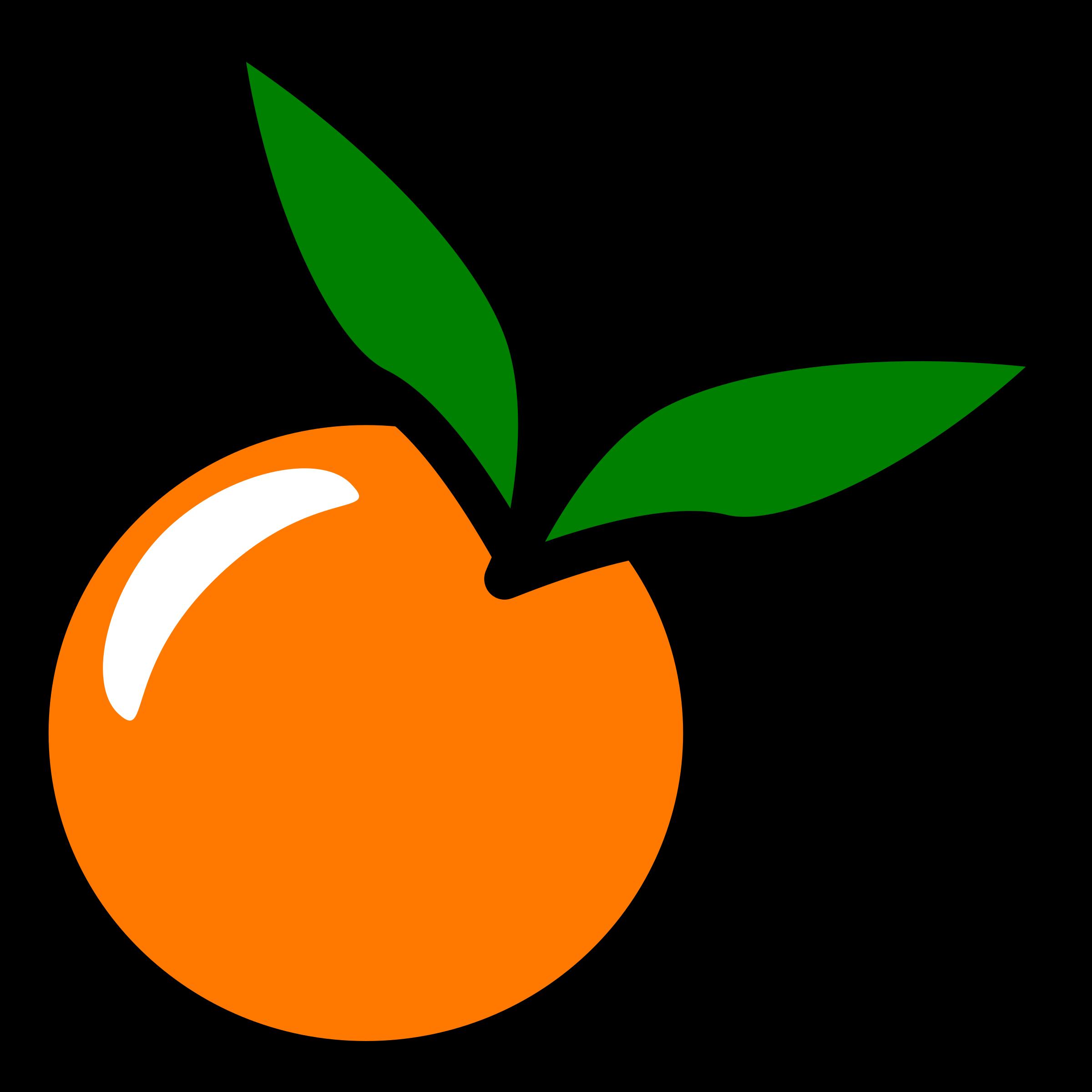 clipart orange icon