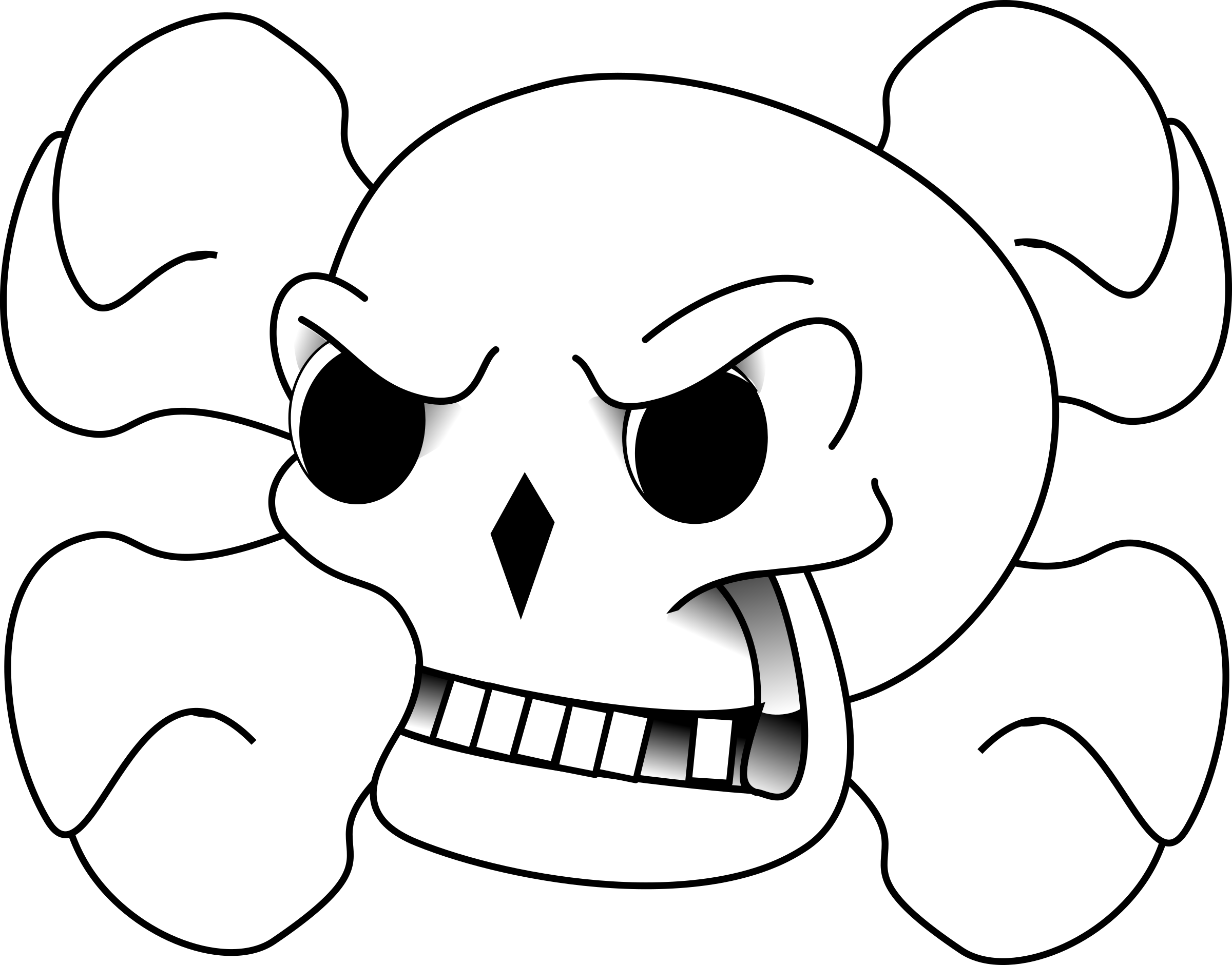 Skull and Bones by drunken_duck