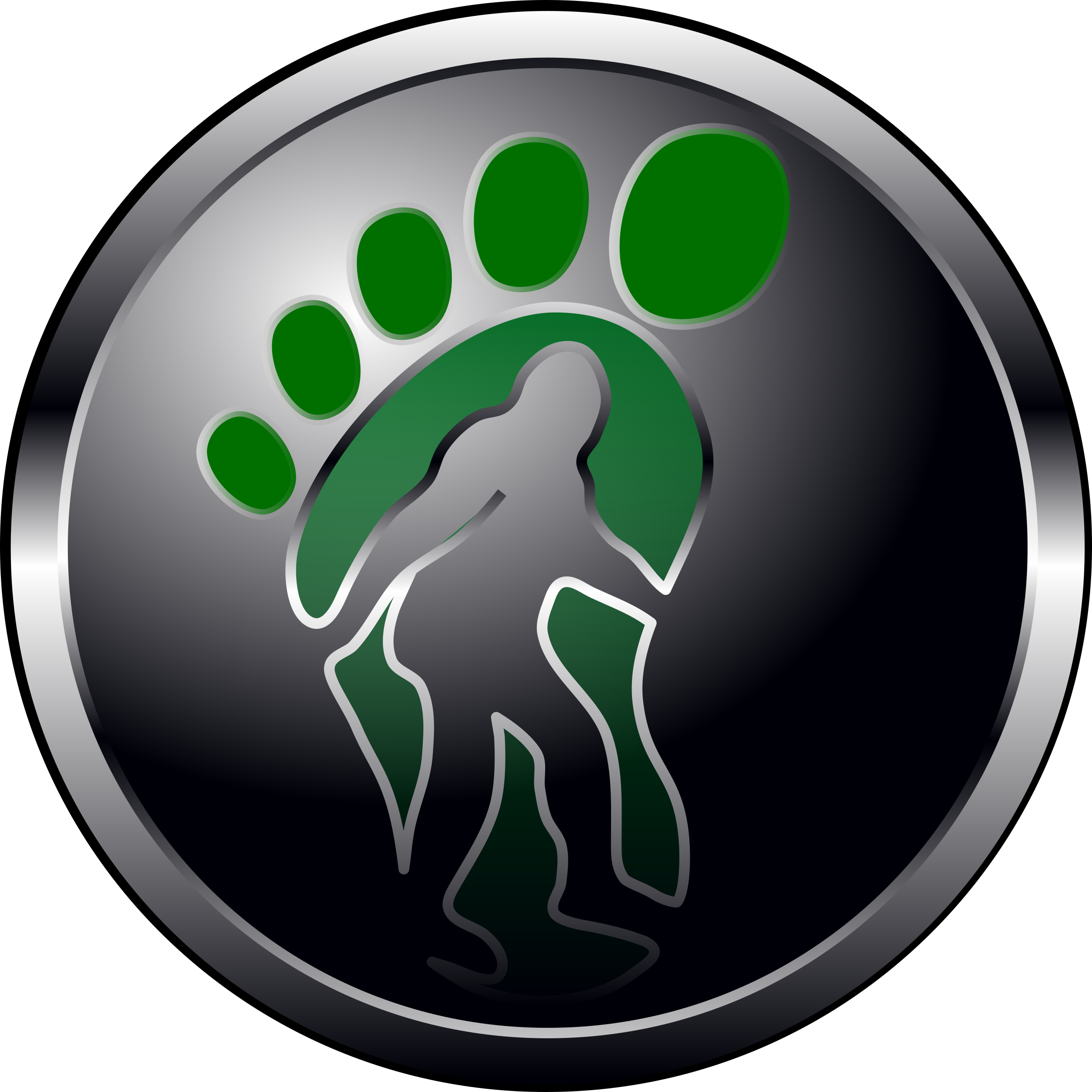 Bigfoot Button by haroldbarber73