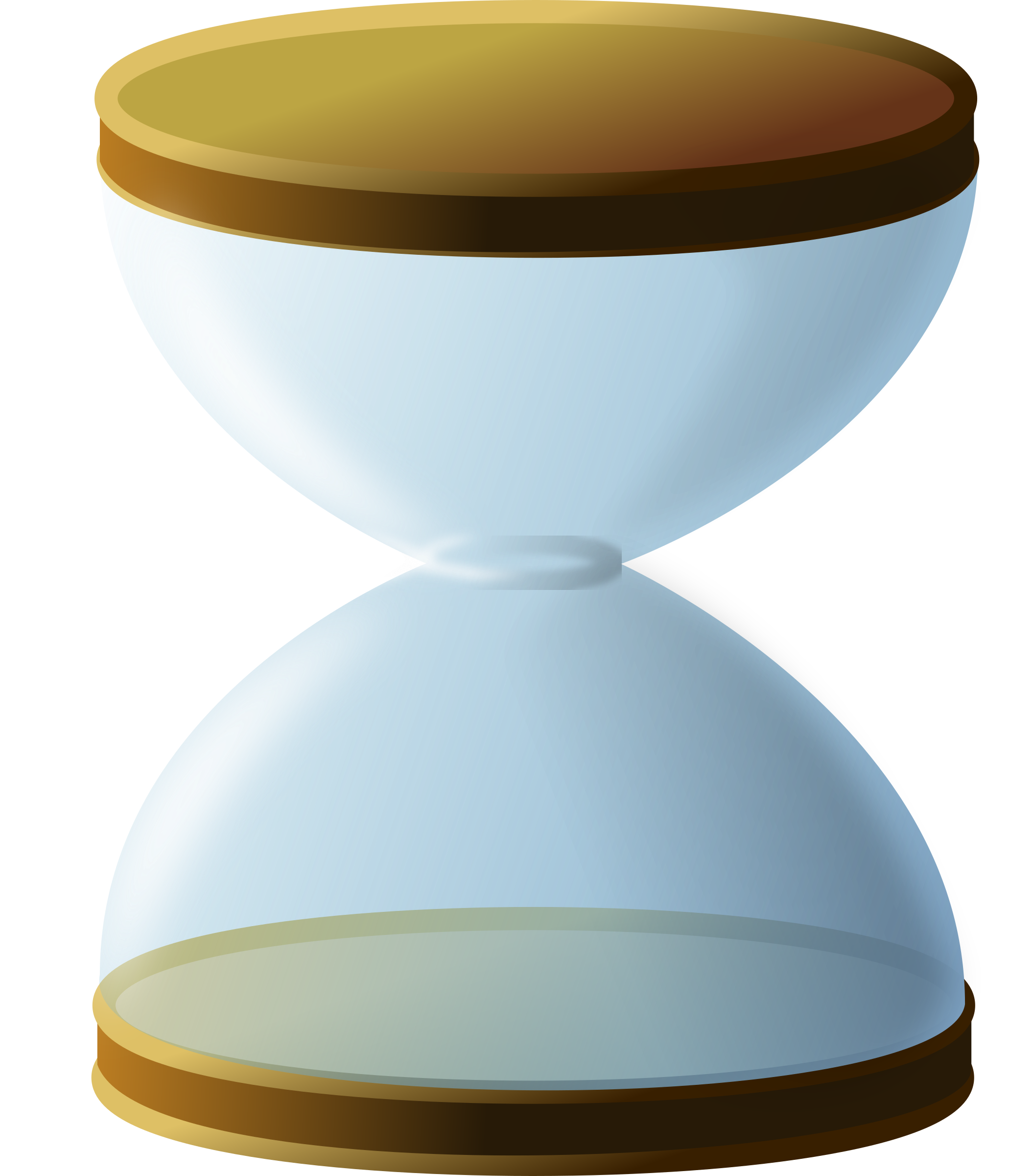Sand-less Hourglass by GDJ