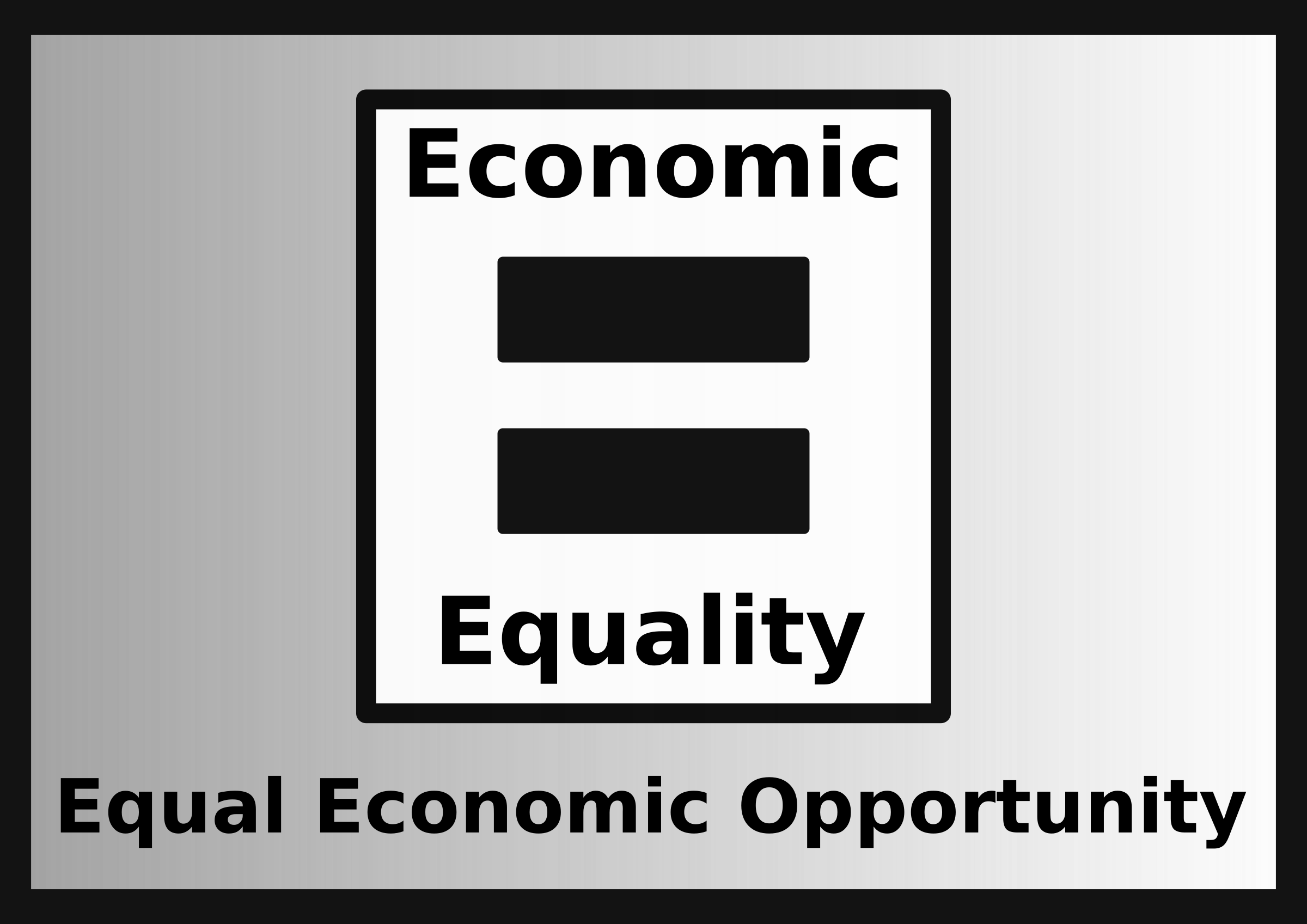 Equal Economic Opportunity by zerozip