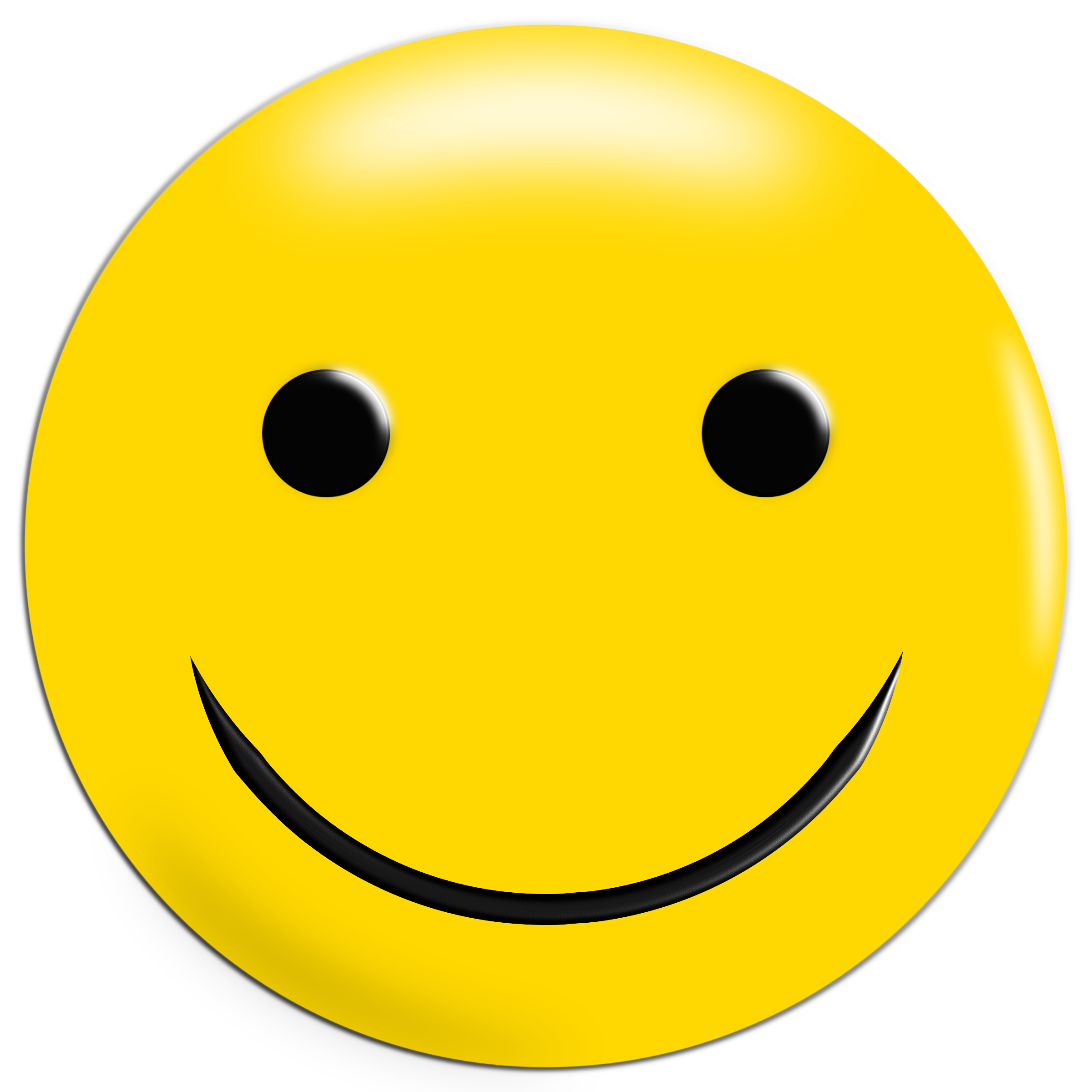 Simple Yellow Smiley by GDJ