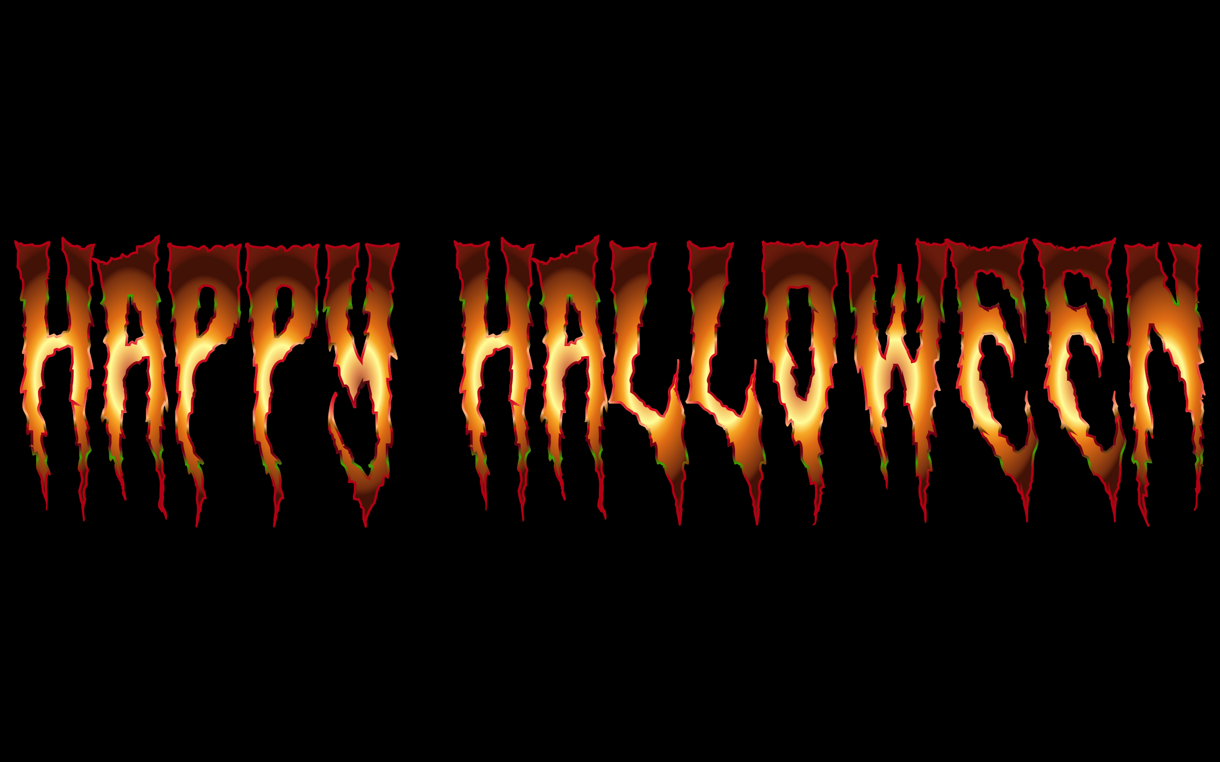 Happy Halloween Typography by GDJ
