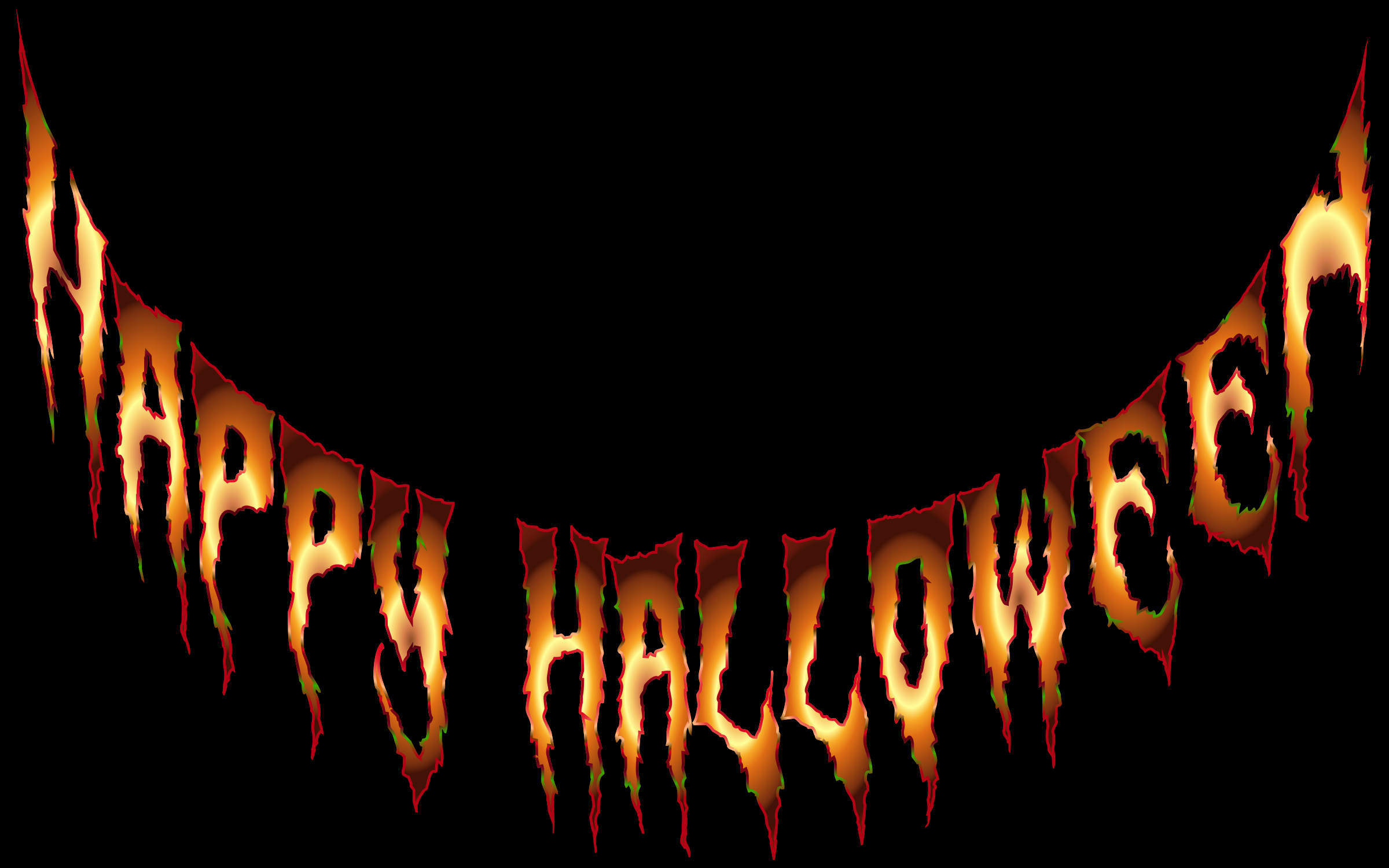 Happy Halloween Typography 4 by GDJ