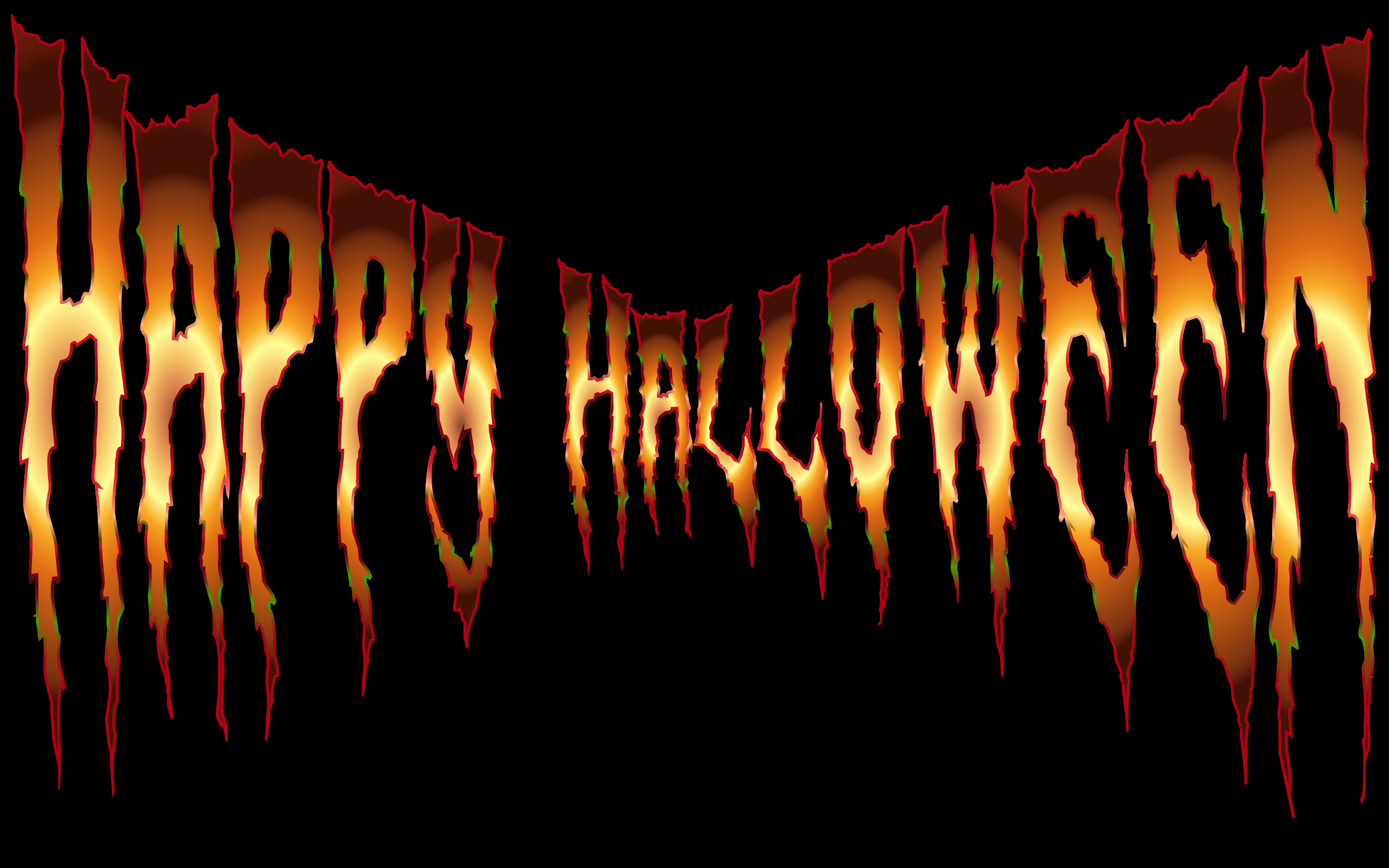 Happy Halloween Typography 7 by GDJ