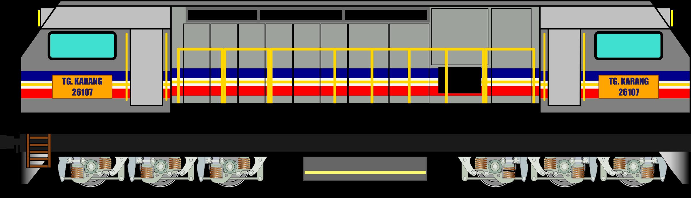 Clipart - KTM Class 26 Locomotive