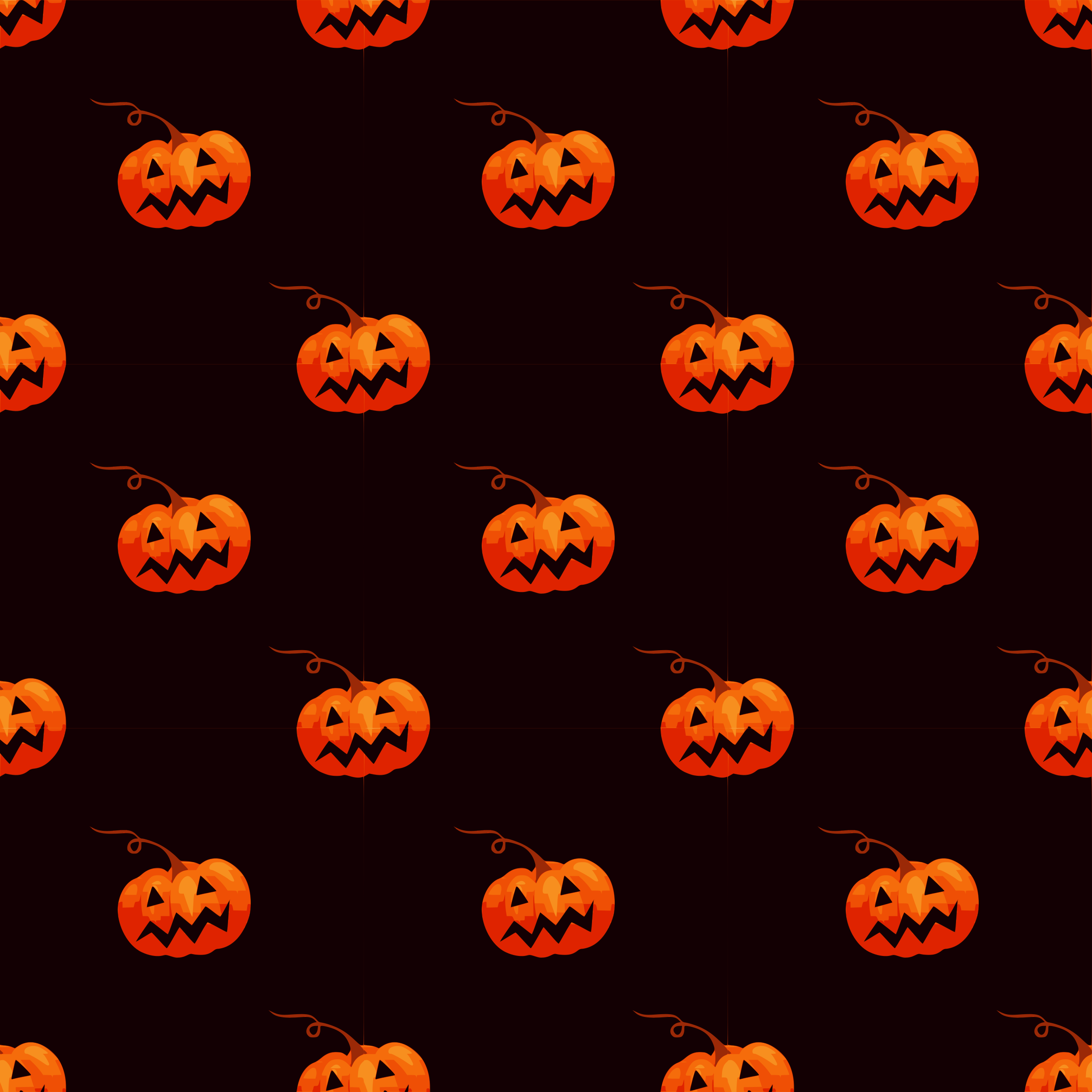 Halloween-seamless pattern by yamachem