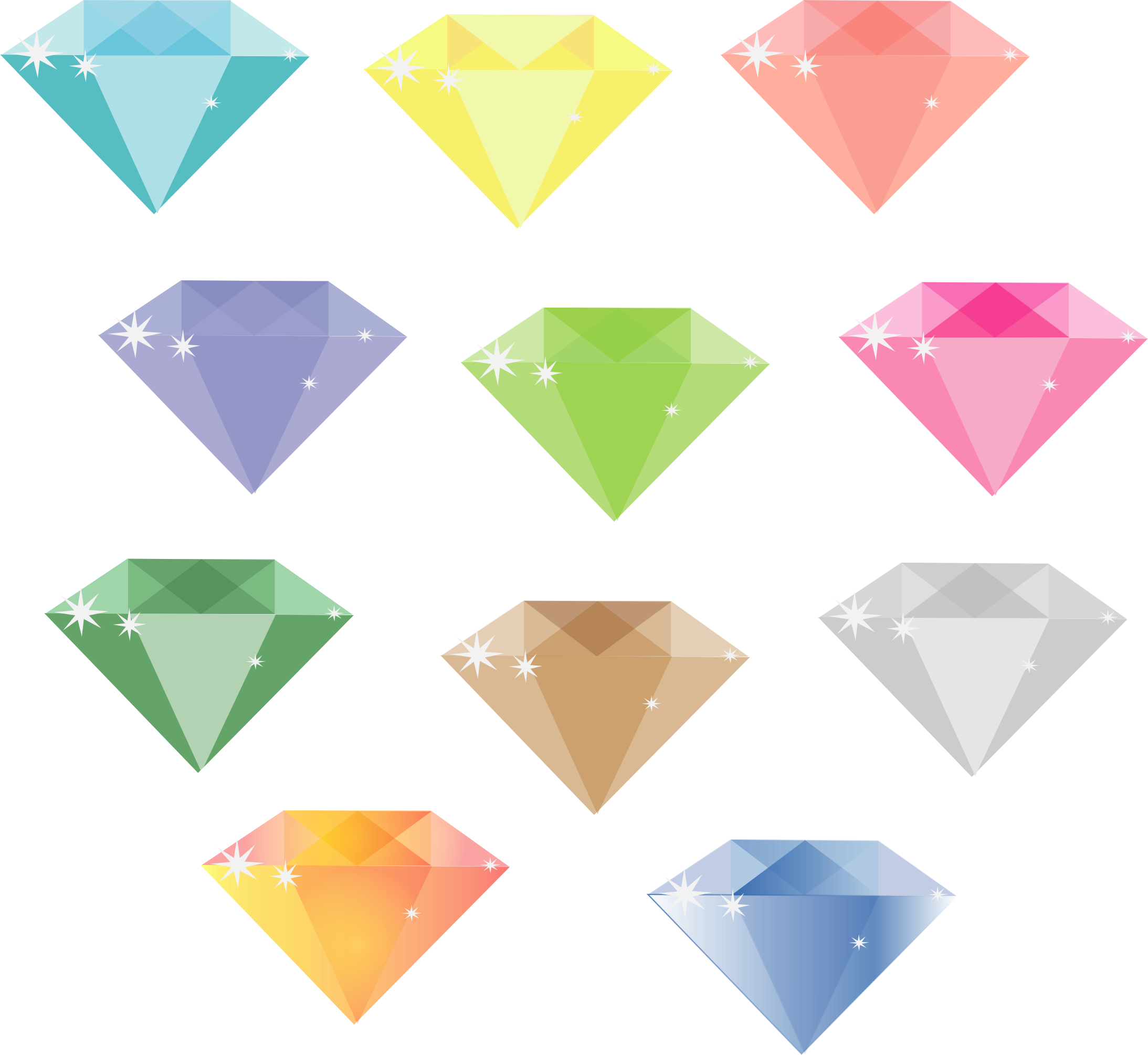 SIMPLE DIAMONDS by barbie40