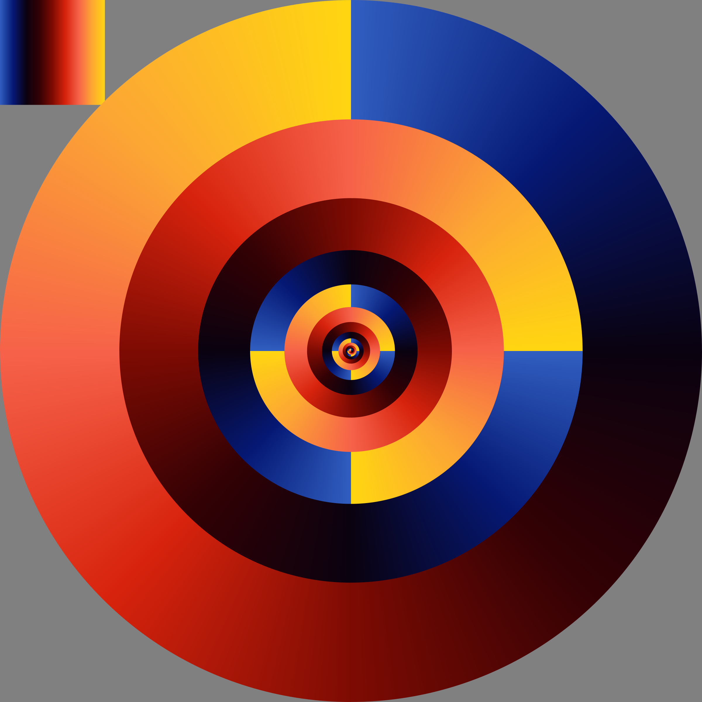 conic gradient composition by Lazur URH