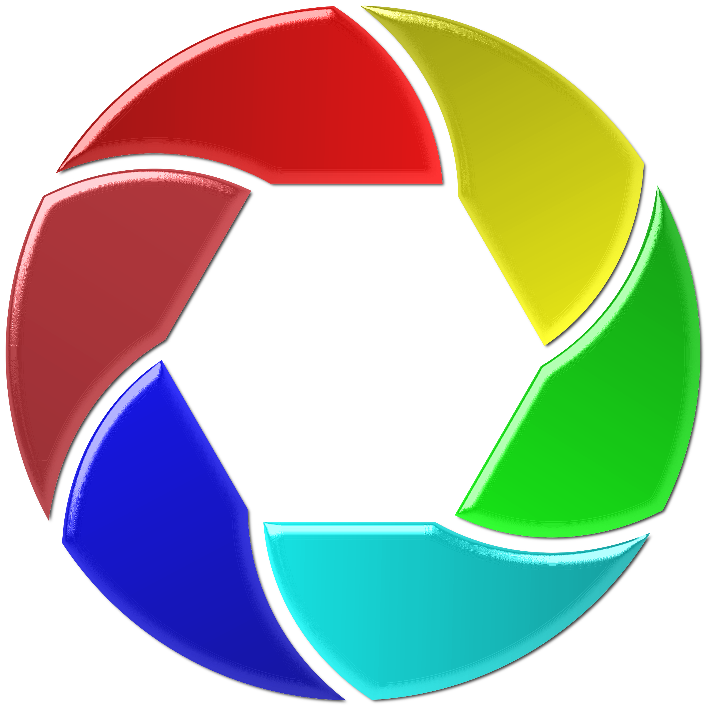 Colorful Shutter Icon Enhanced 2 by GDJ