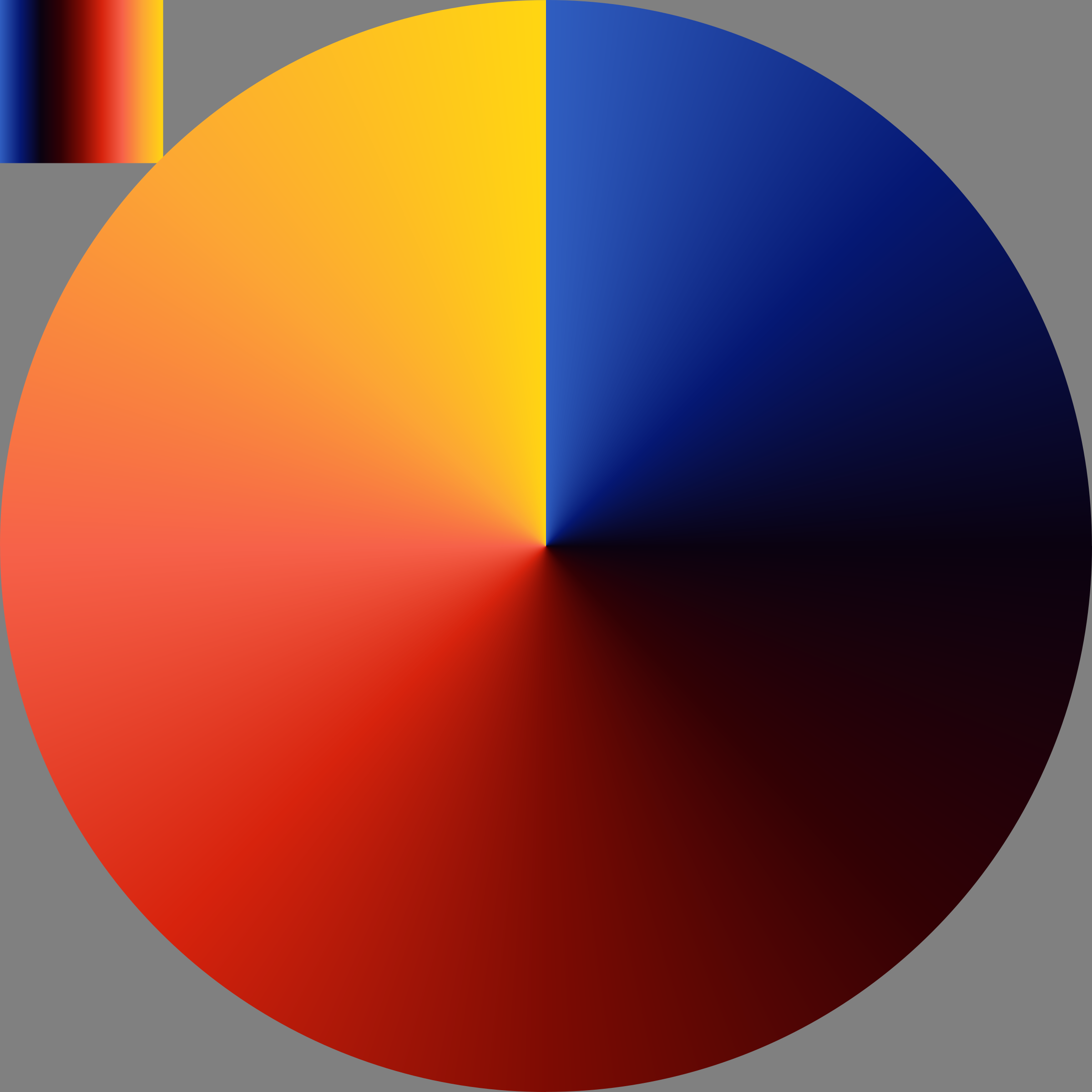 gradient corrected by Lazur URH