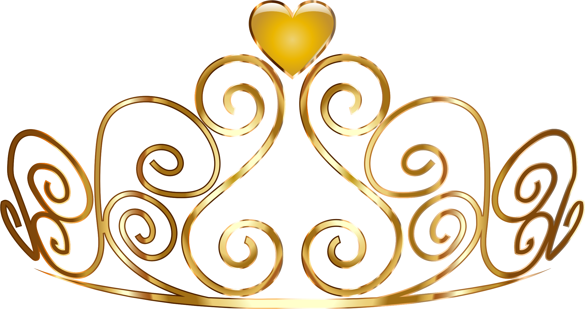 Gold crown clipart no background besides gold crown clipart picture - Gold Princess Crown Clipart Photo 16
