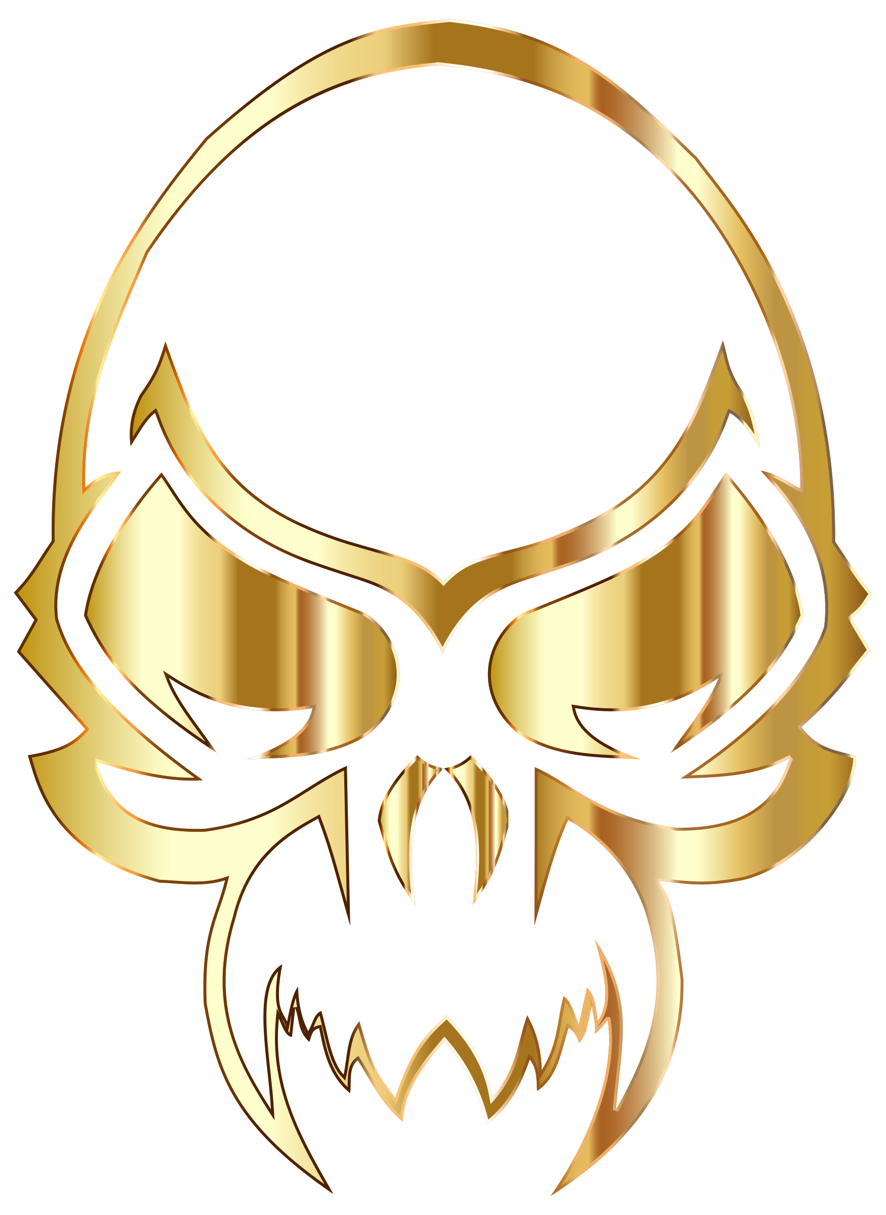 Golden Skull by GDJ