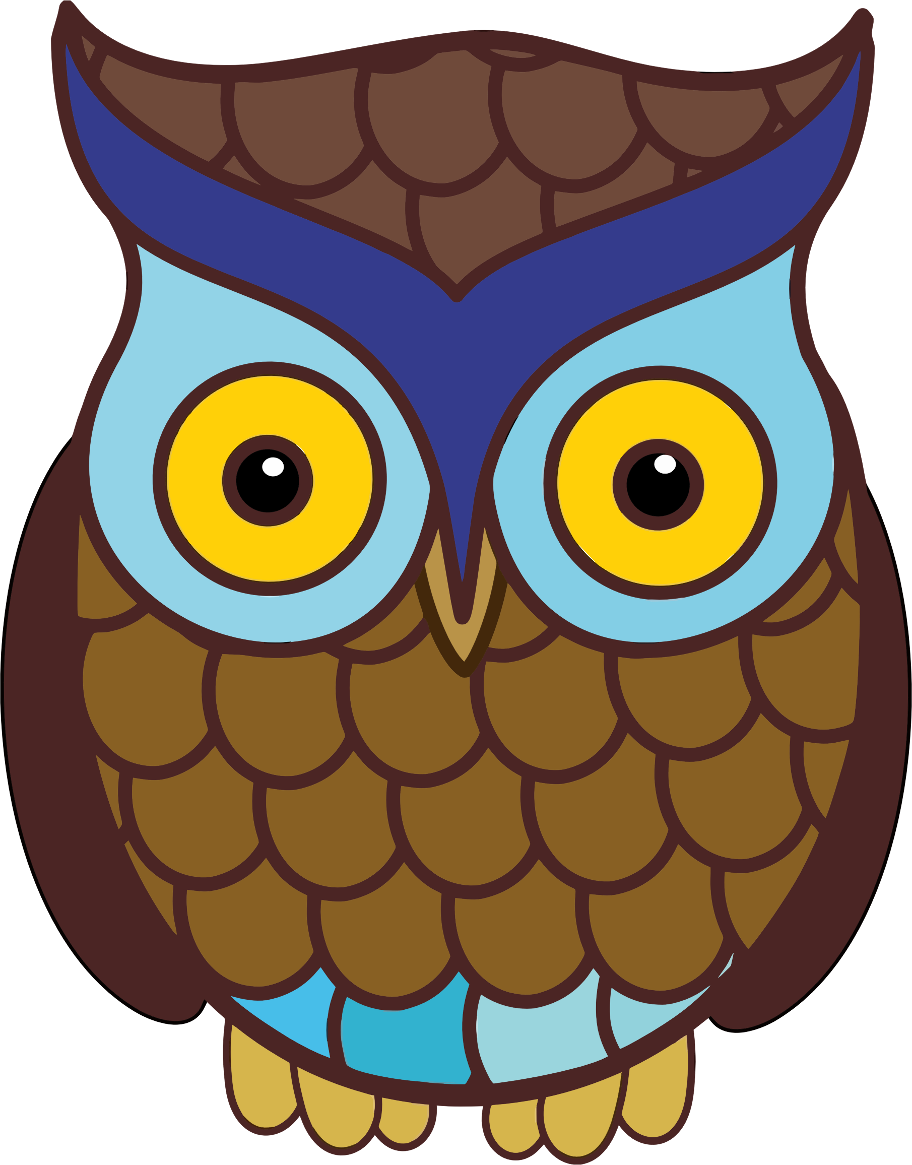 Wide Eyed Owl by GDJ