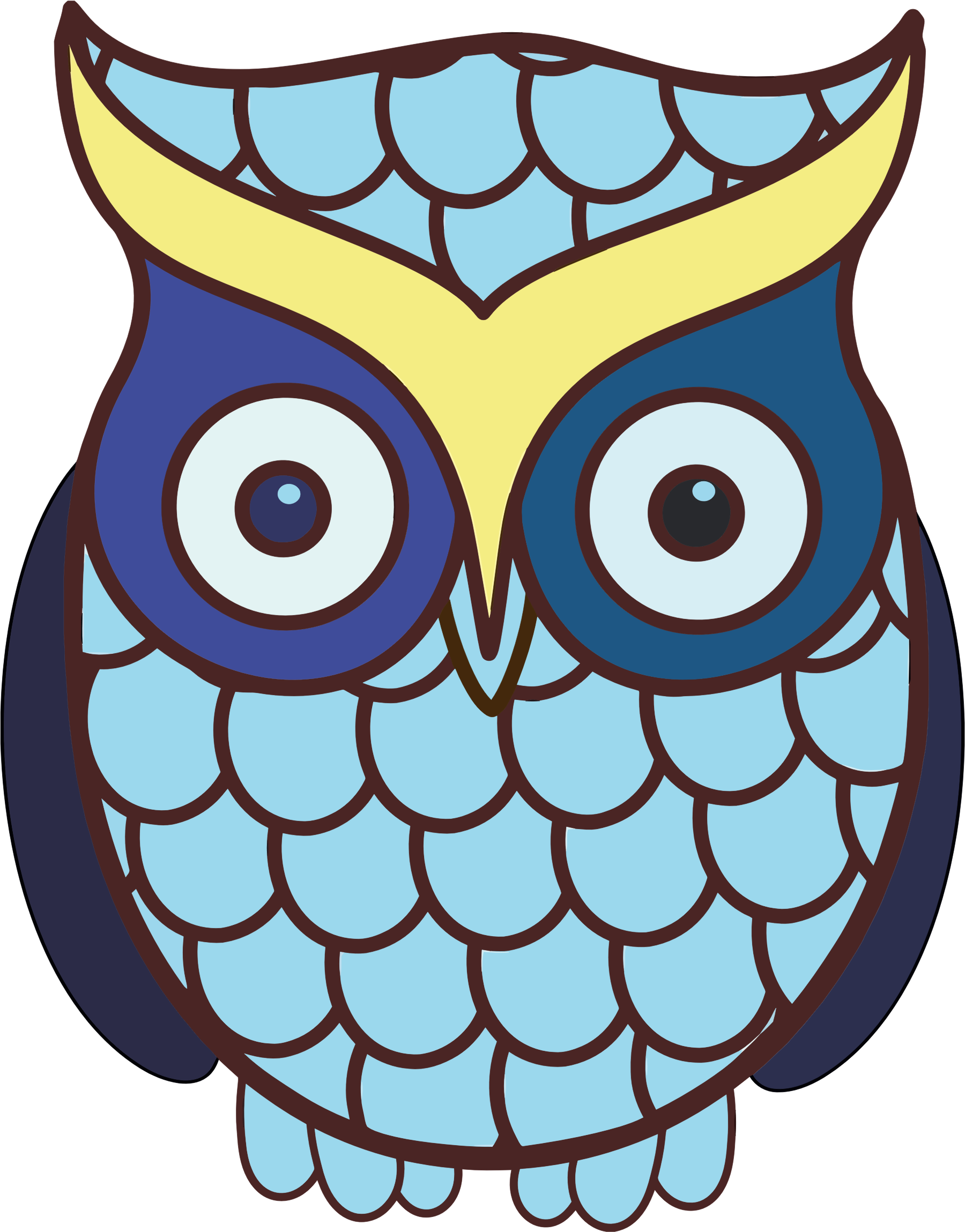 Wide Eyed Owl 2 by GDJ