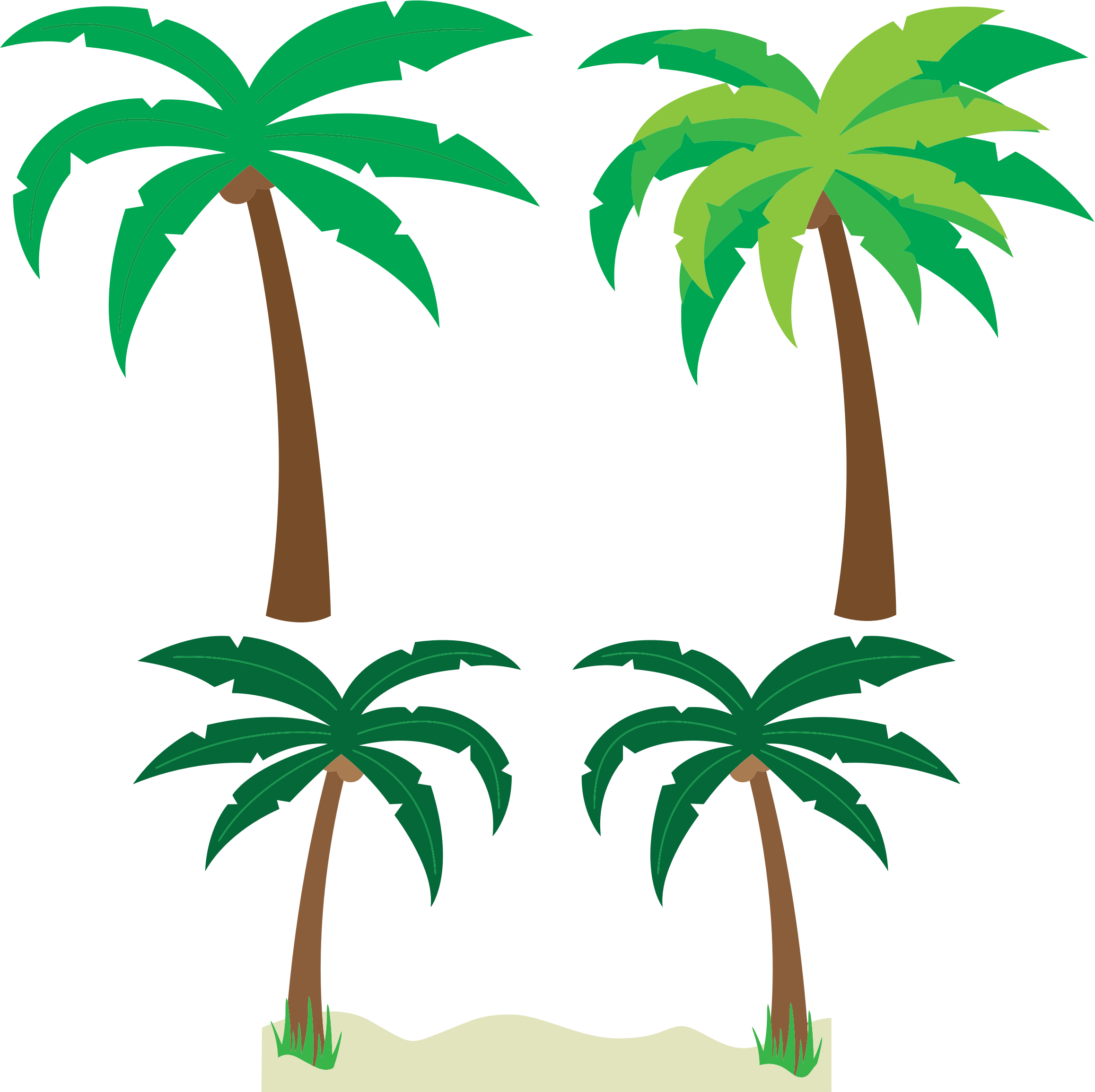 Palm Trees by GDJ