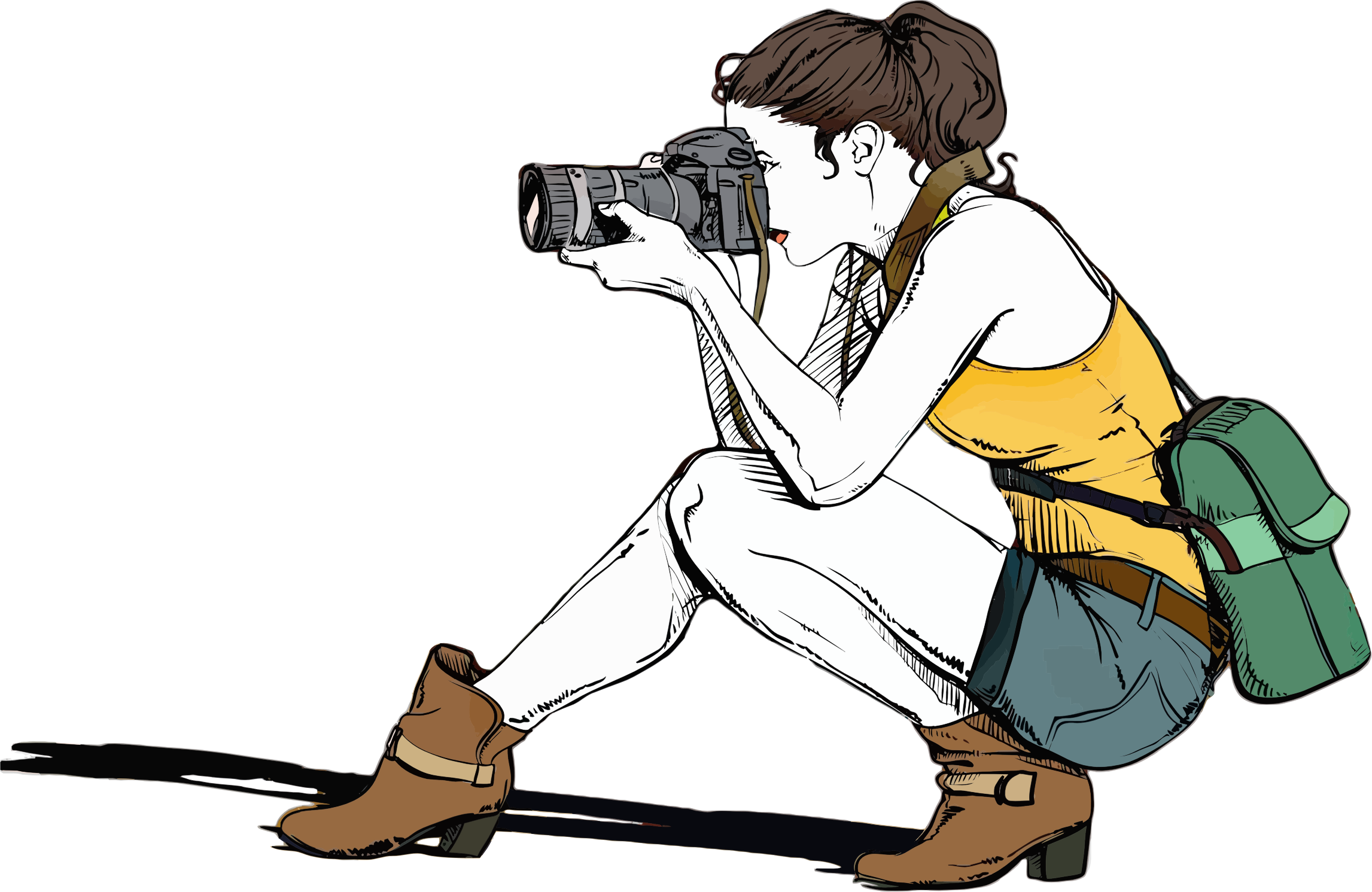 Female Photographer by GDJ