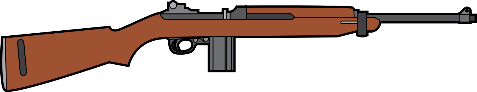 M1 Carbine rifle by ray4ad