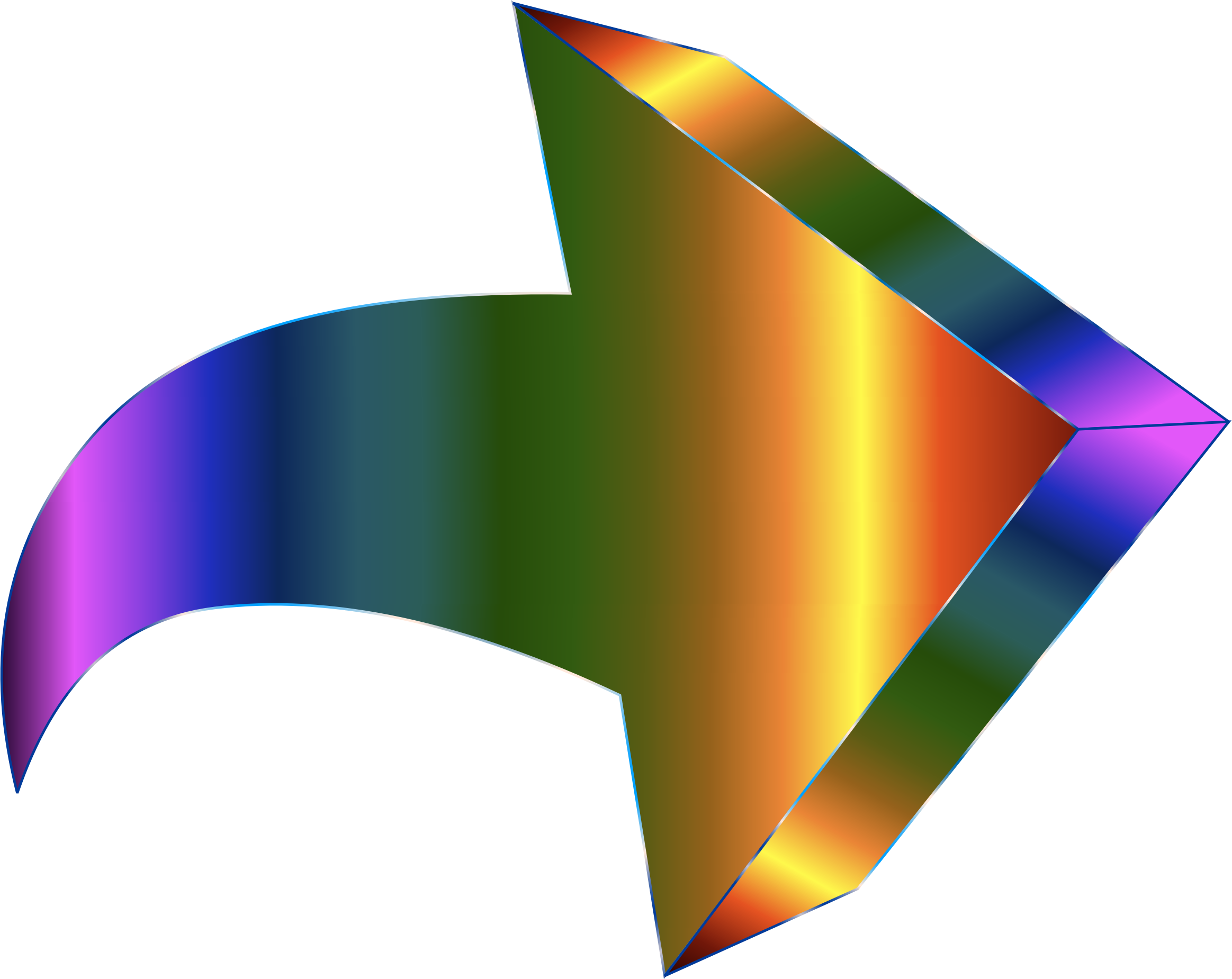 Prismatic 3D Arrow by GDJ
