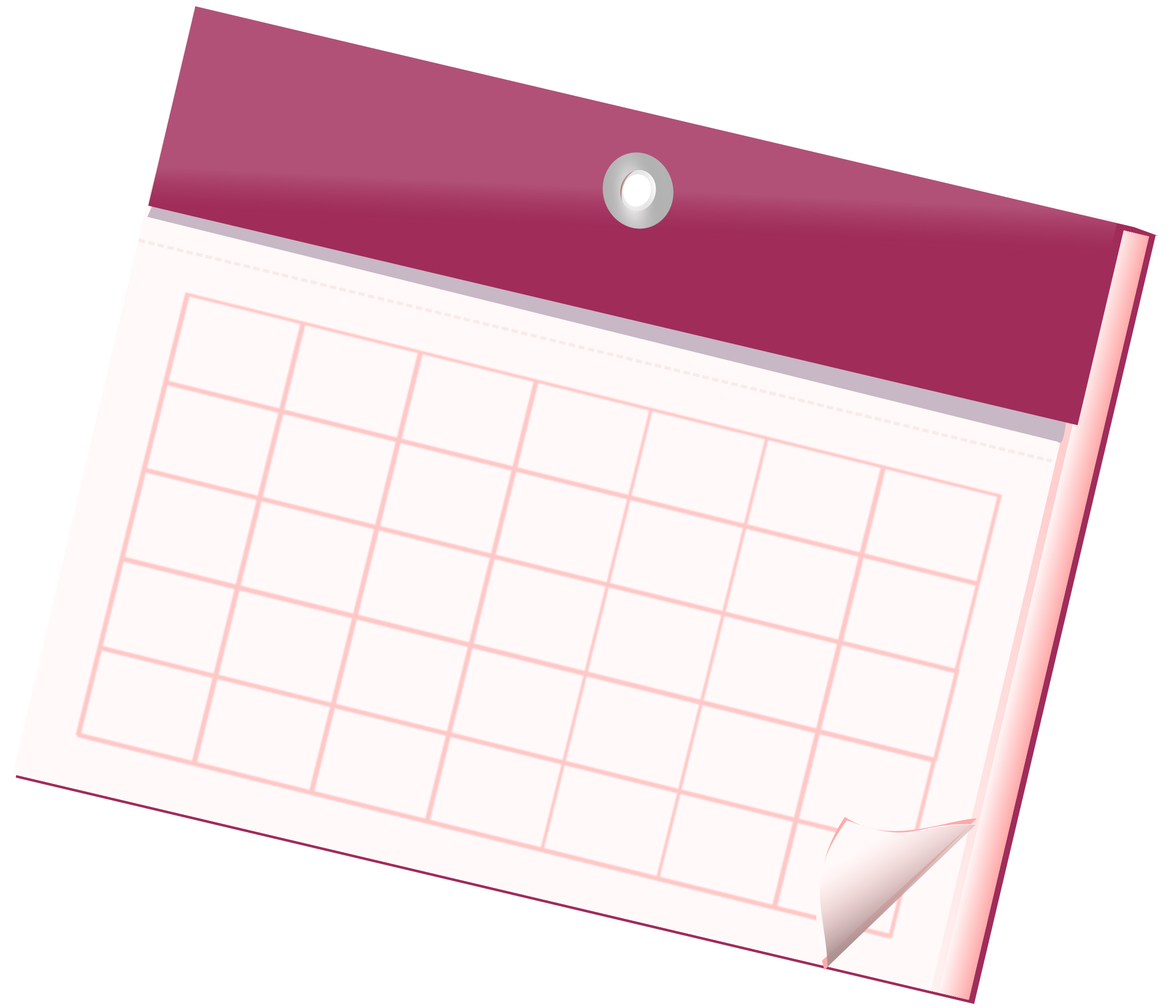 Empty Calendar Sheet by Nizips