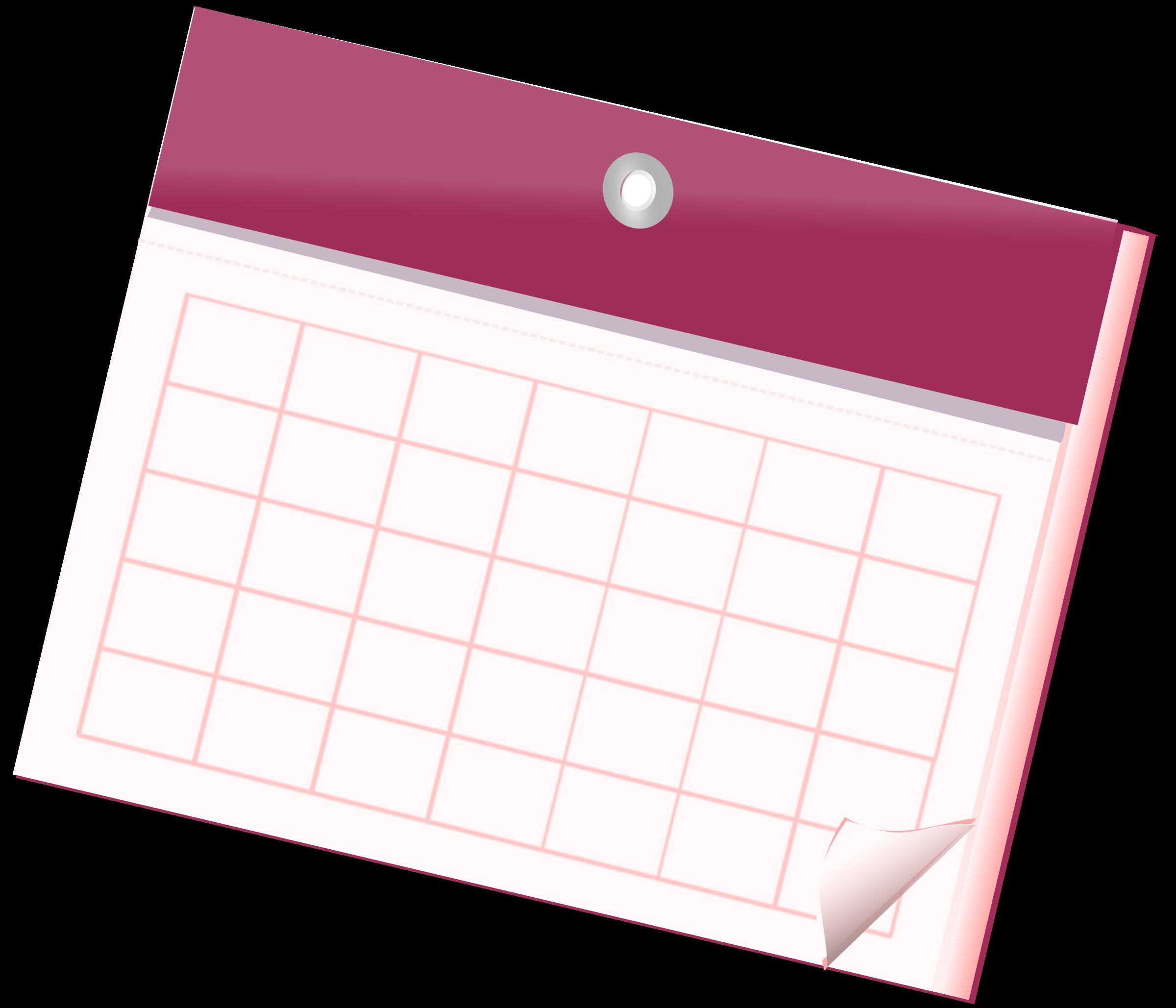 Empty Calendar Sheet by Nizips