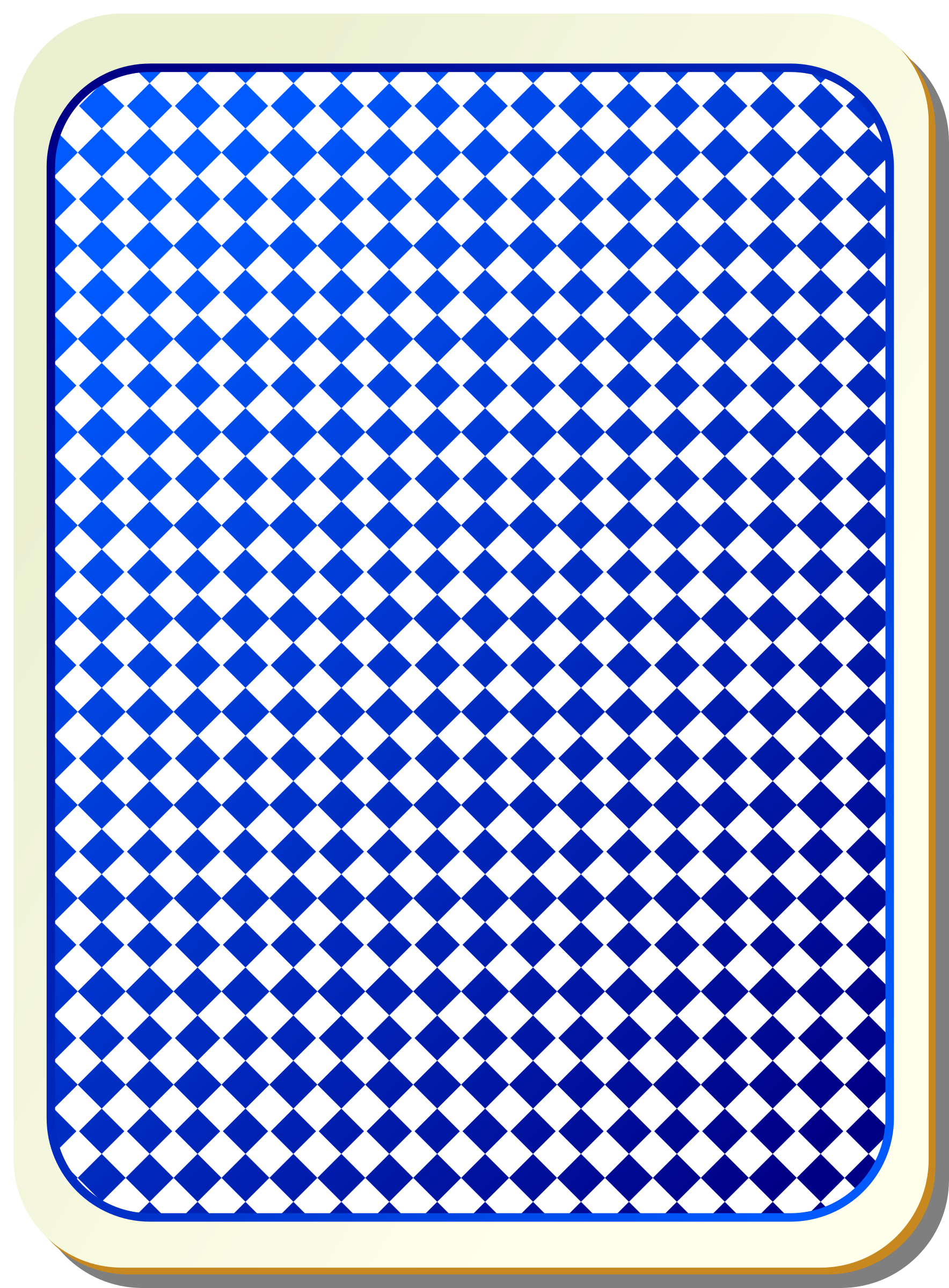 Card backs: grid blue by nicubunu