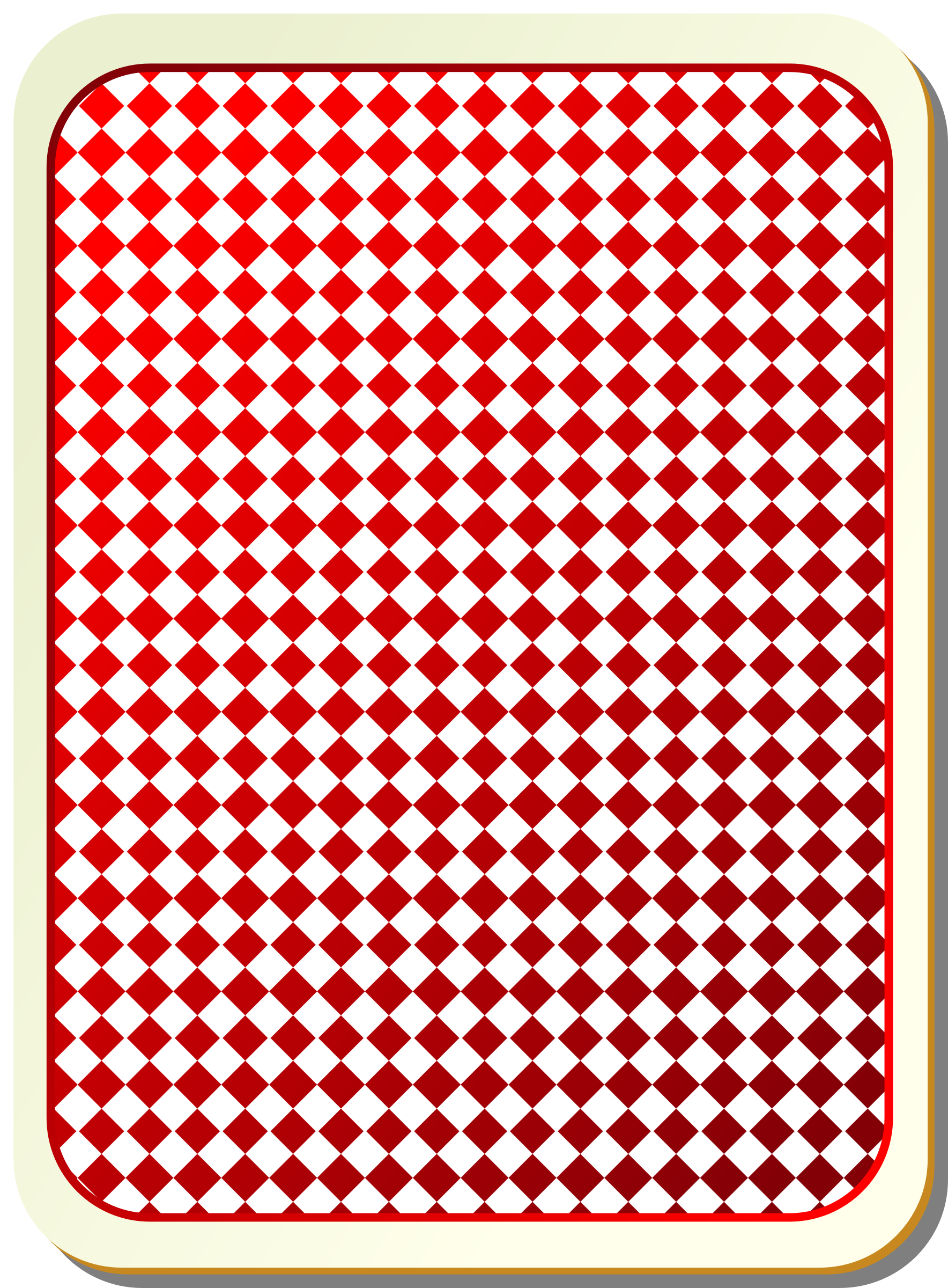 Card backs: grid red by nicubunu