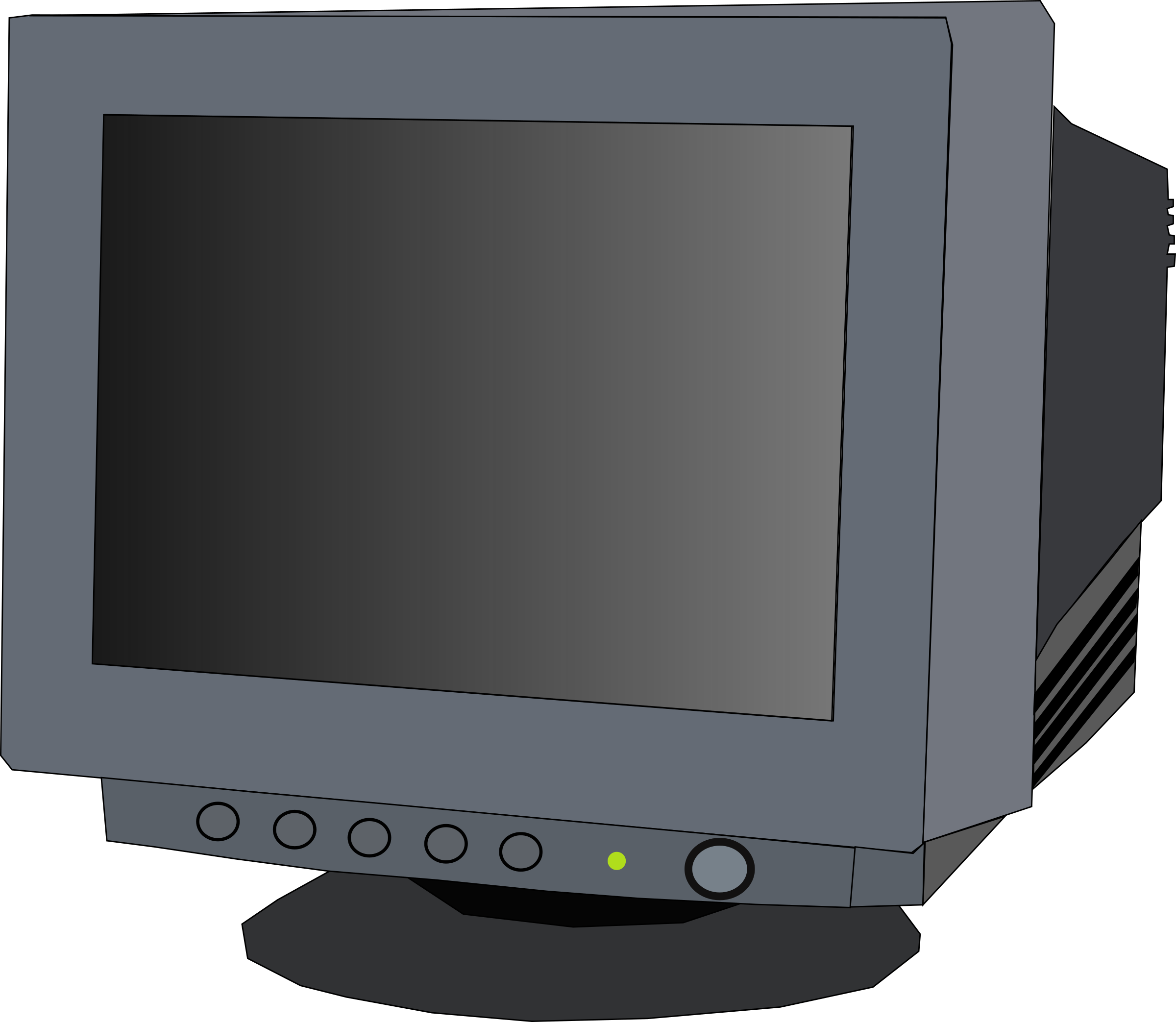 monitor CRT by Machovka