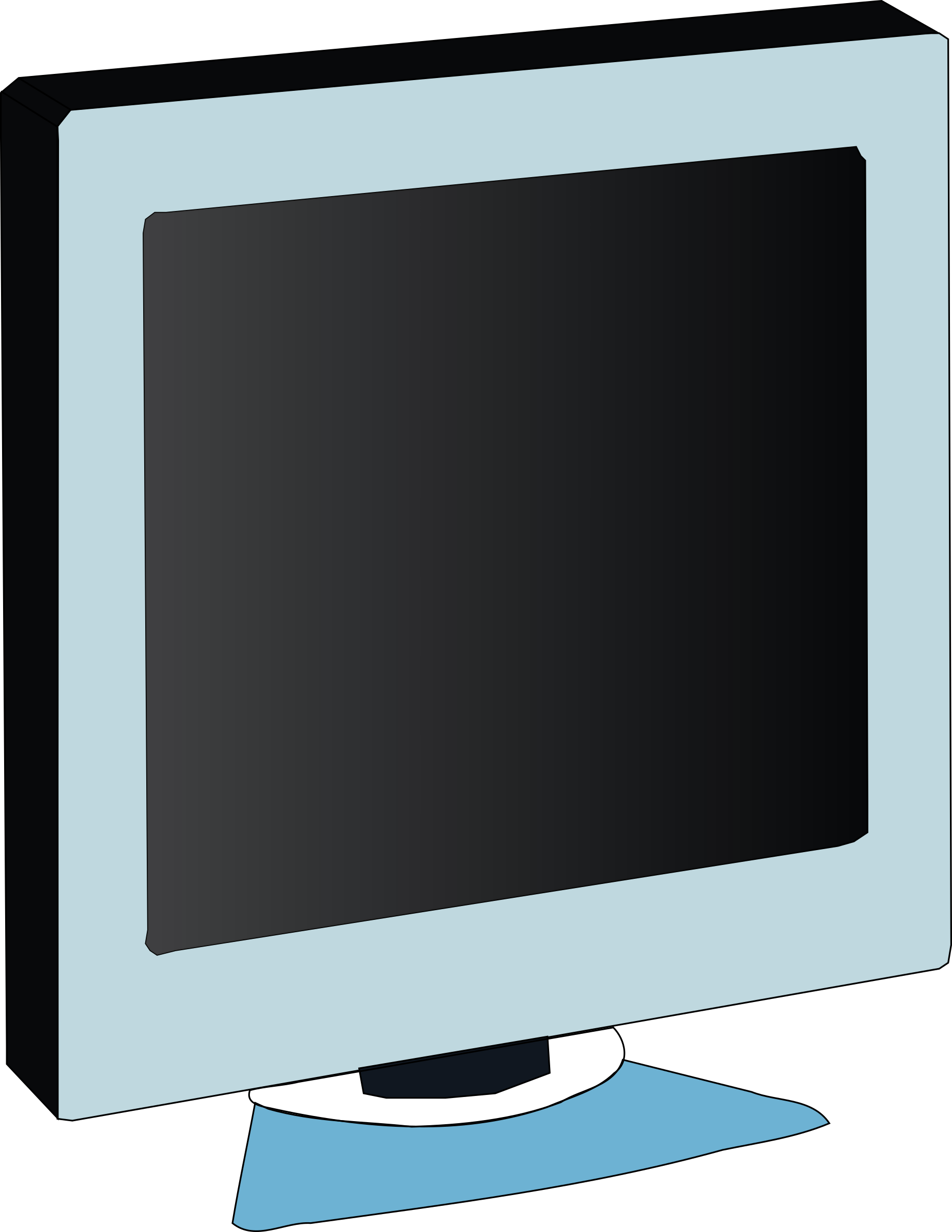 monitor LCD by Machovka